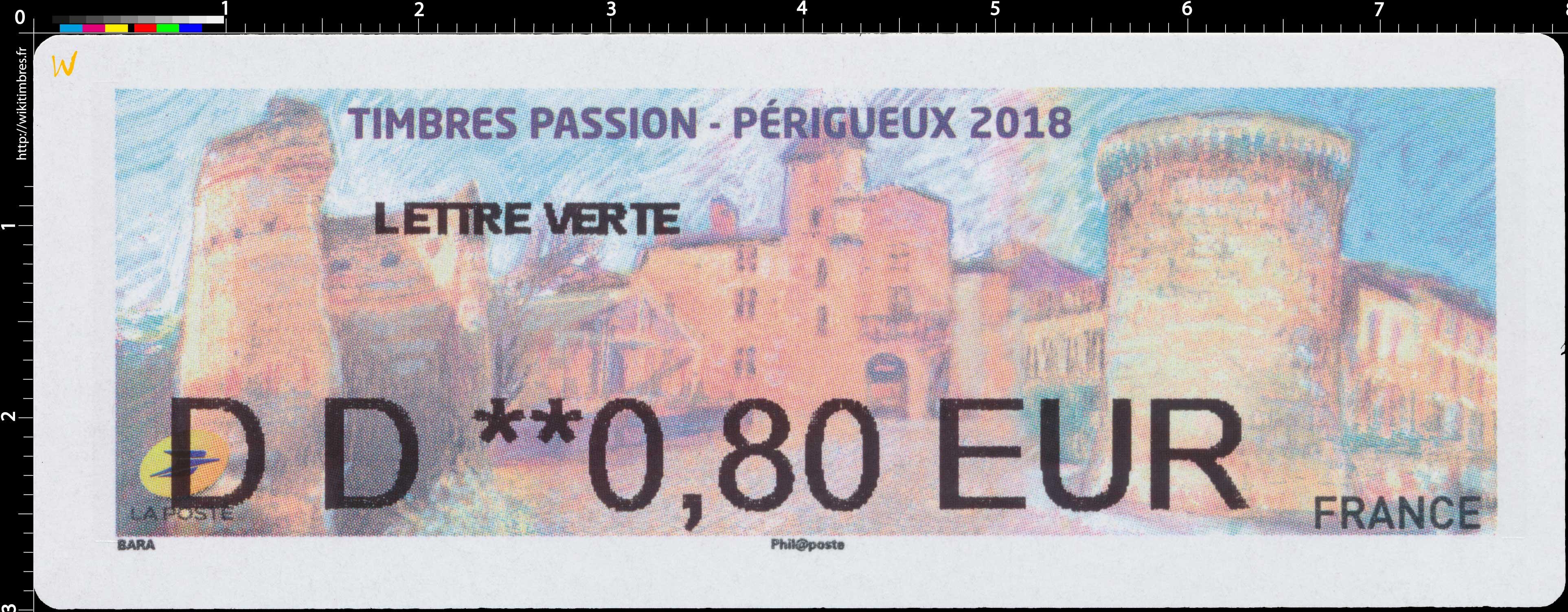 2018 Timbre-Passion à Périgueux