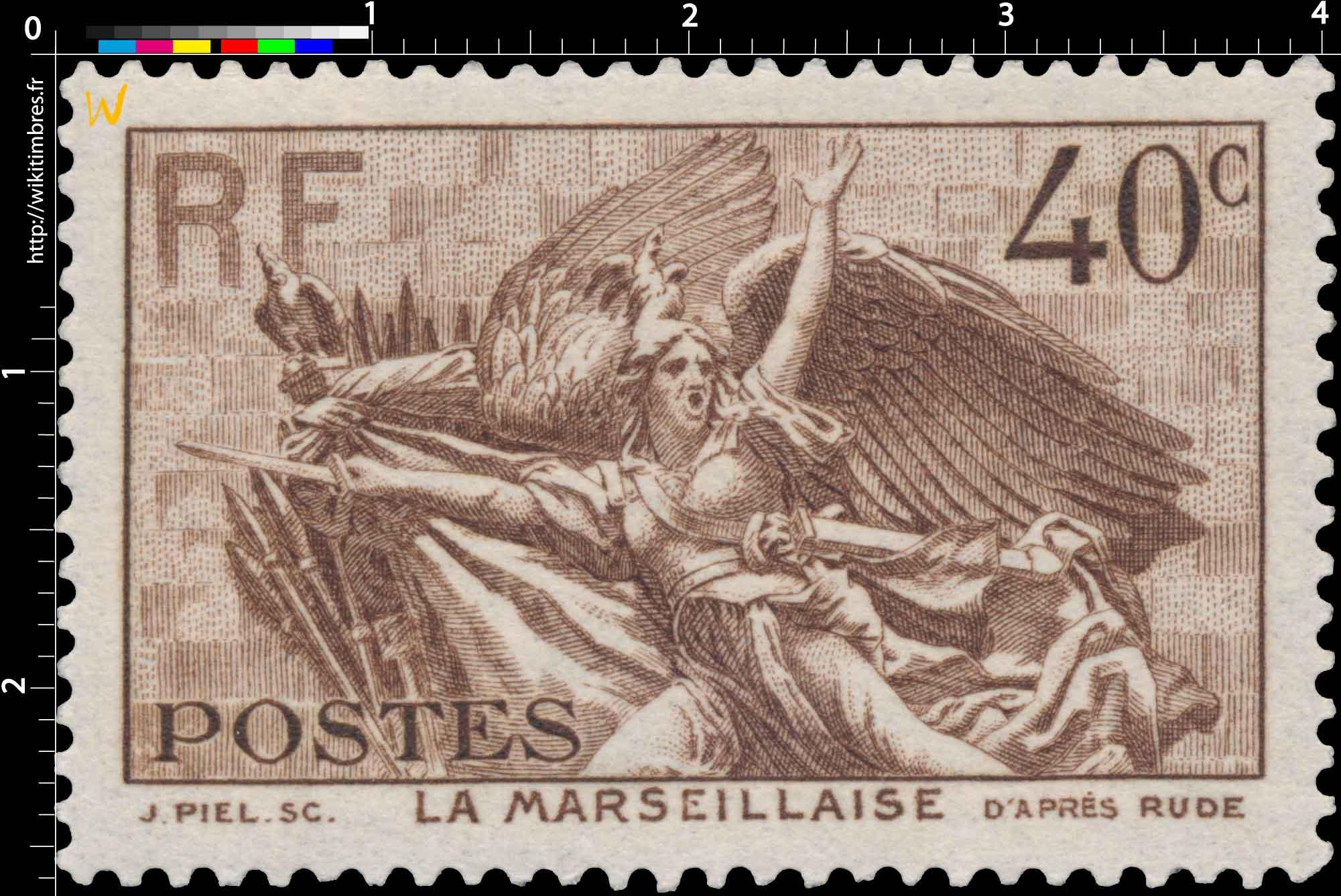 LA MARSEILLAISE D'APRÈS RUDE