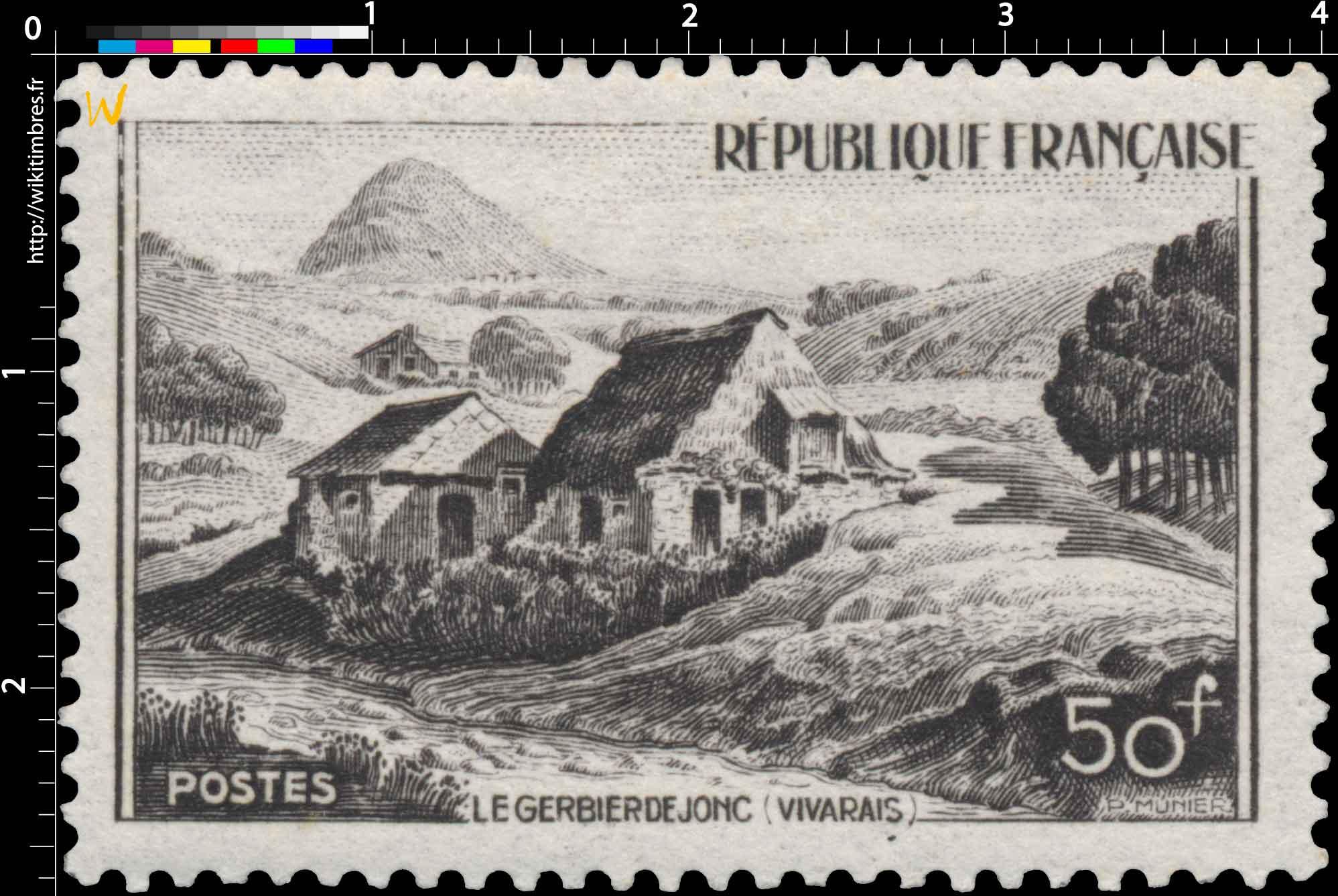 LE GERBIER DE JONC (VIVARAIS)
