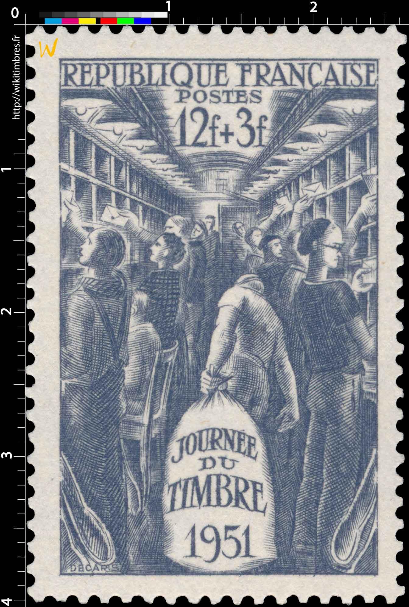 JOURNÉE DU TIMBRE 1951
