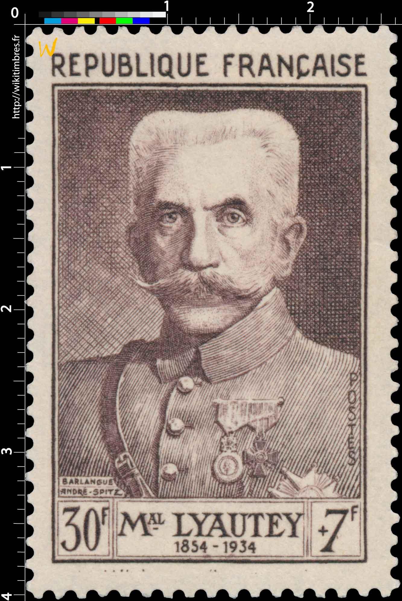 MAL LYAUTEY 1854-1934