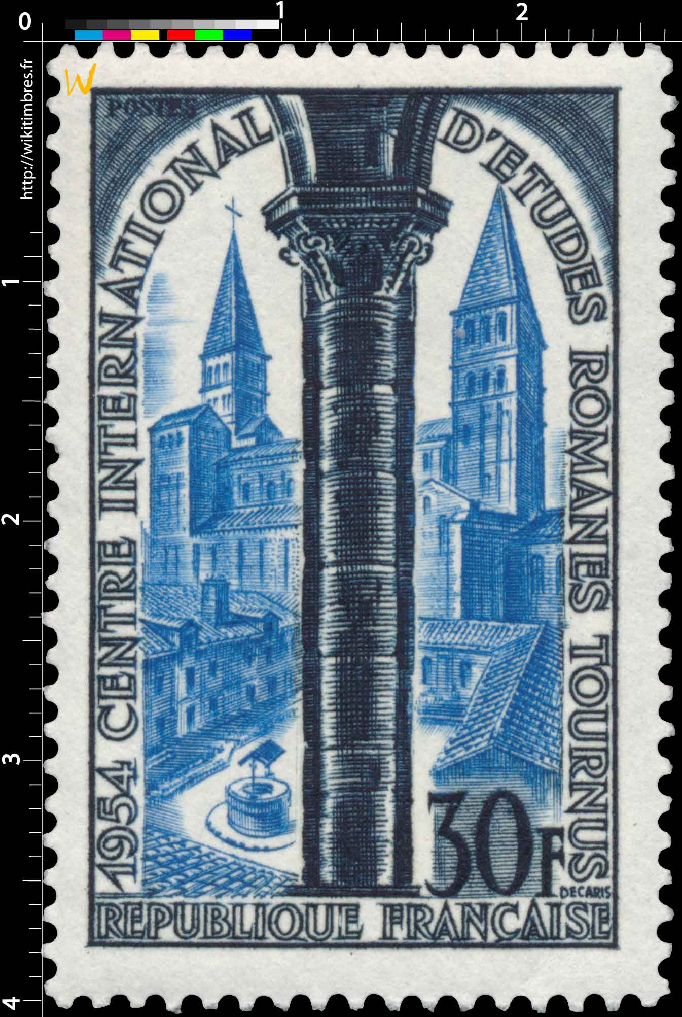 1954 CENTRE INTERNATIONAL D'ÉTUDES ROMANES TOURNUS