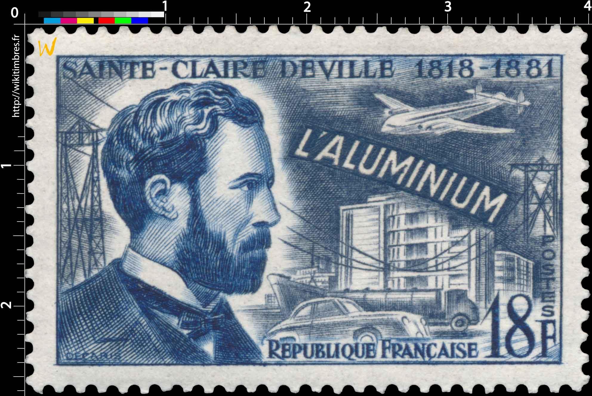 L'ALUMINIUM SAINTE-CLAIRE DEVILLE 1818-1881