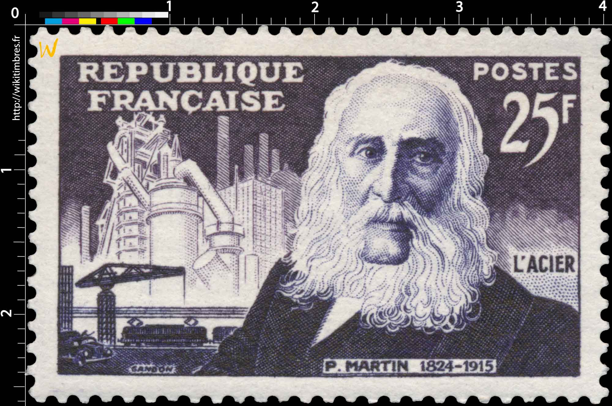 L'ACIER P. MARTIN 1824-1915