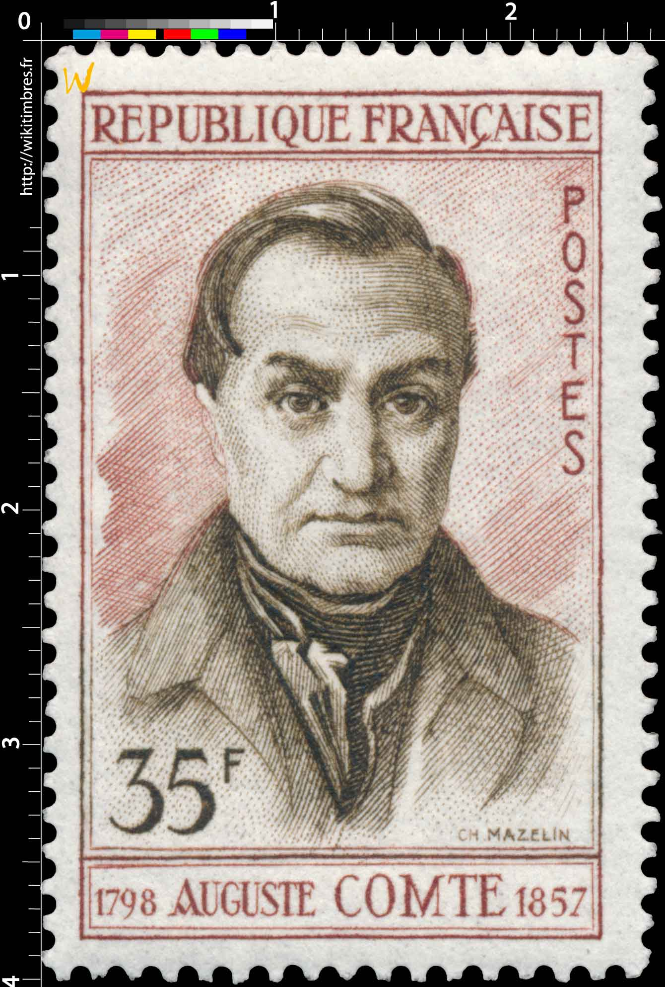 AUGUSTE COMTE 1798-1957
