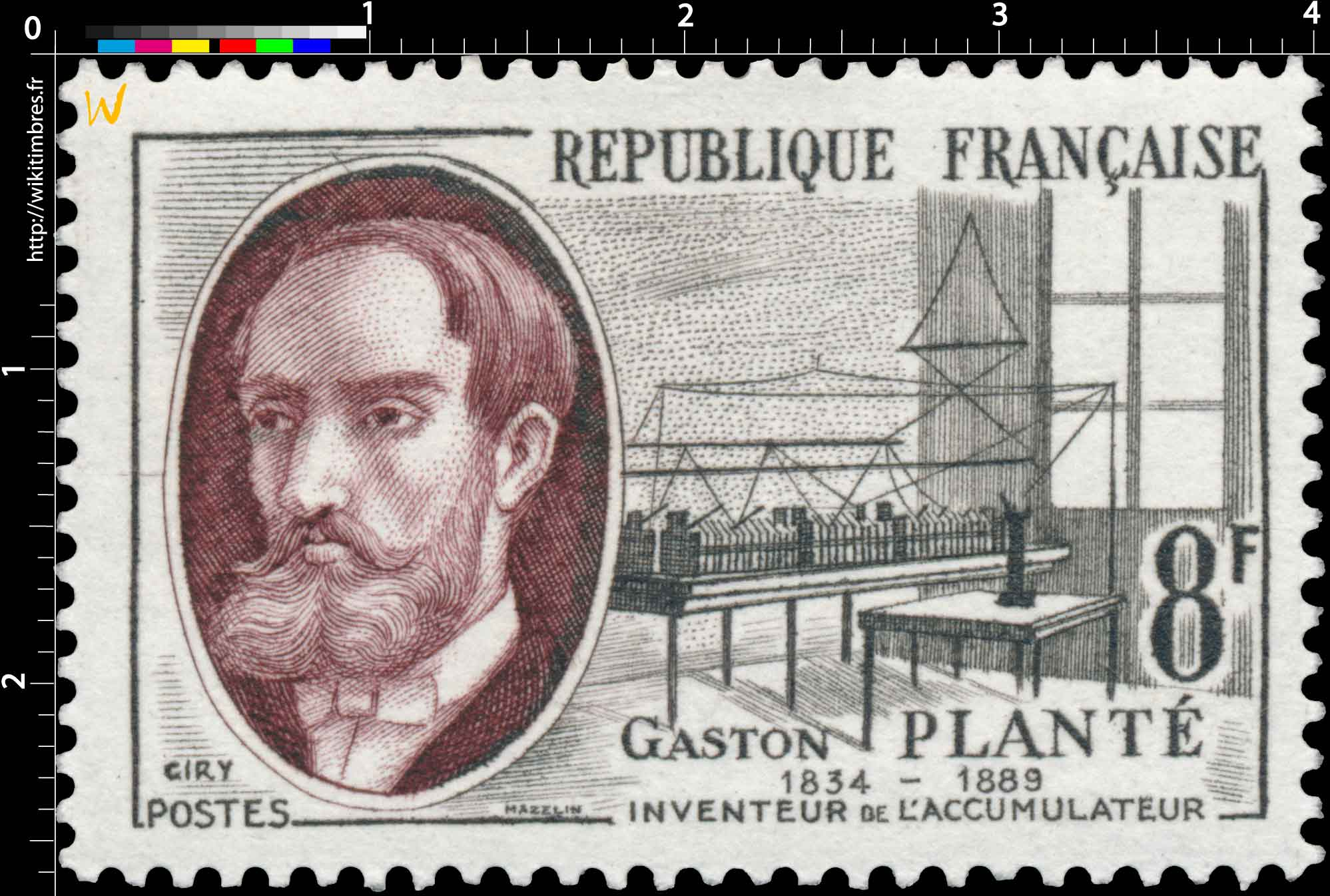 GASTON PLANTÉ 1834-1889 INVENTEUR DE L'ACCUMULATEUR