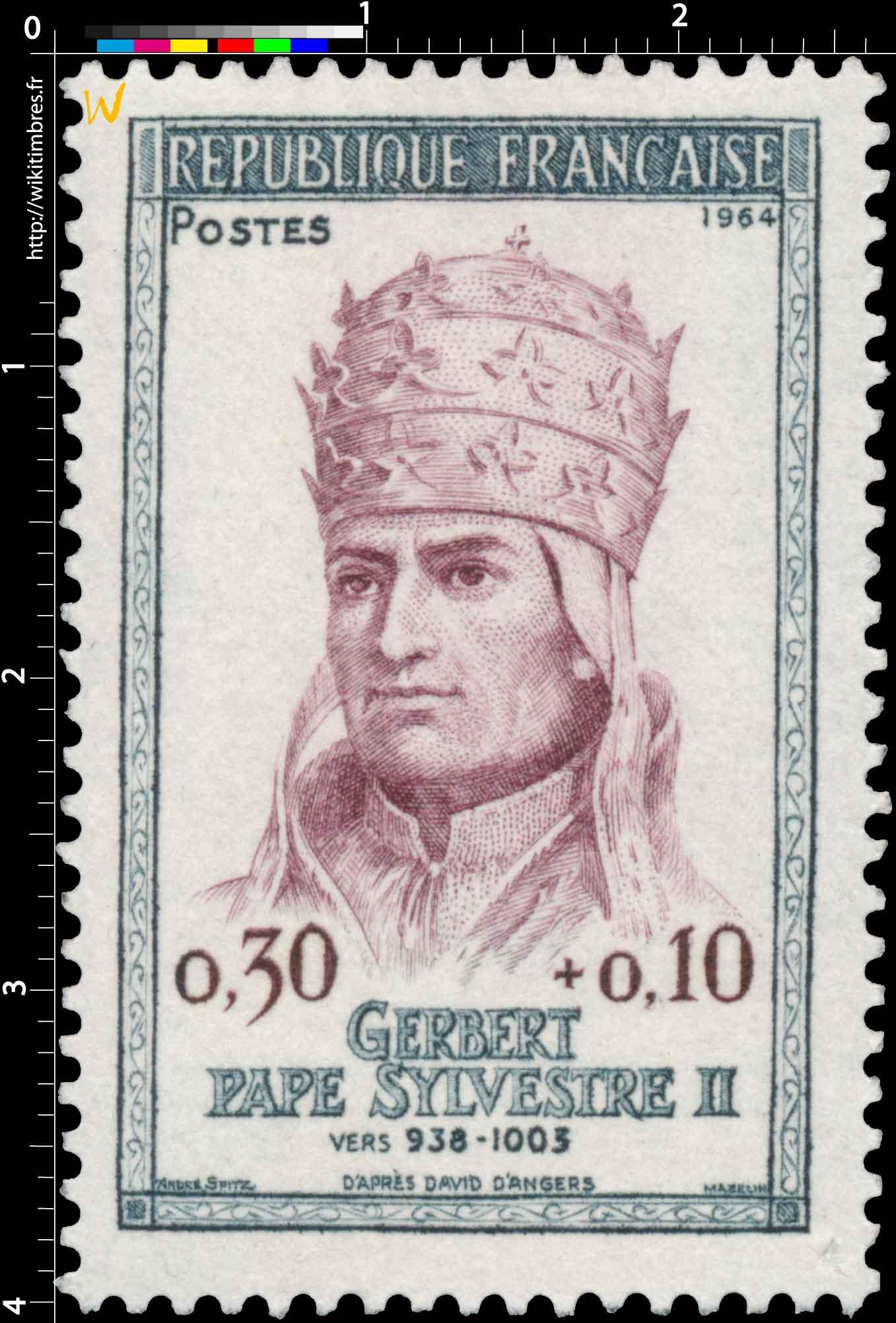 1964 GERBERT PAPE SYLVESTRE II VERS 938-1003