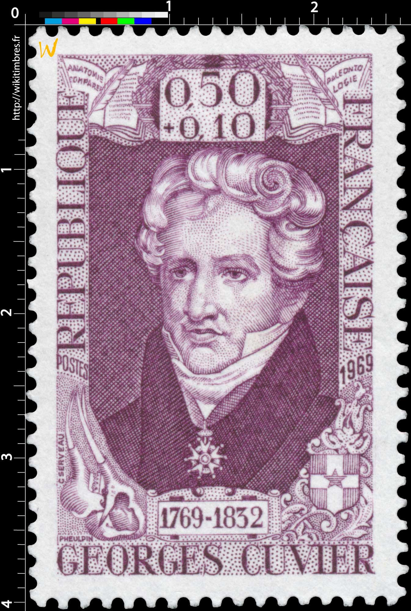 1969 GEORGES CUVIER 1769-1832