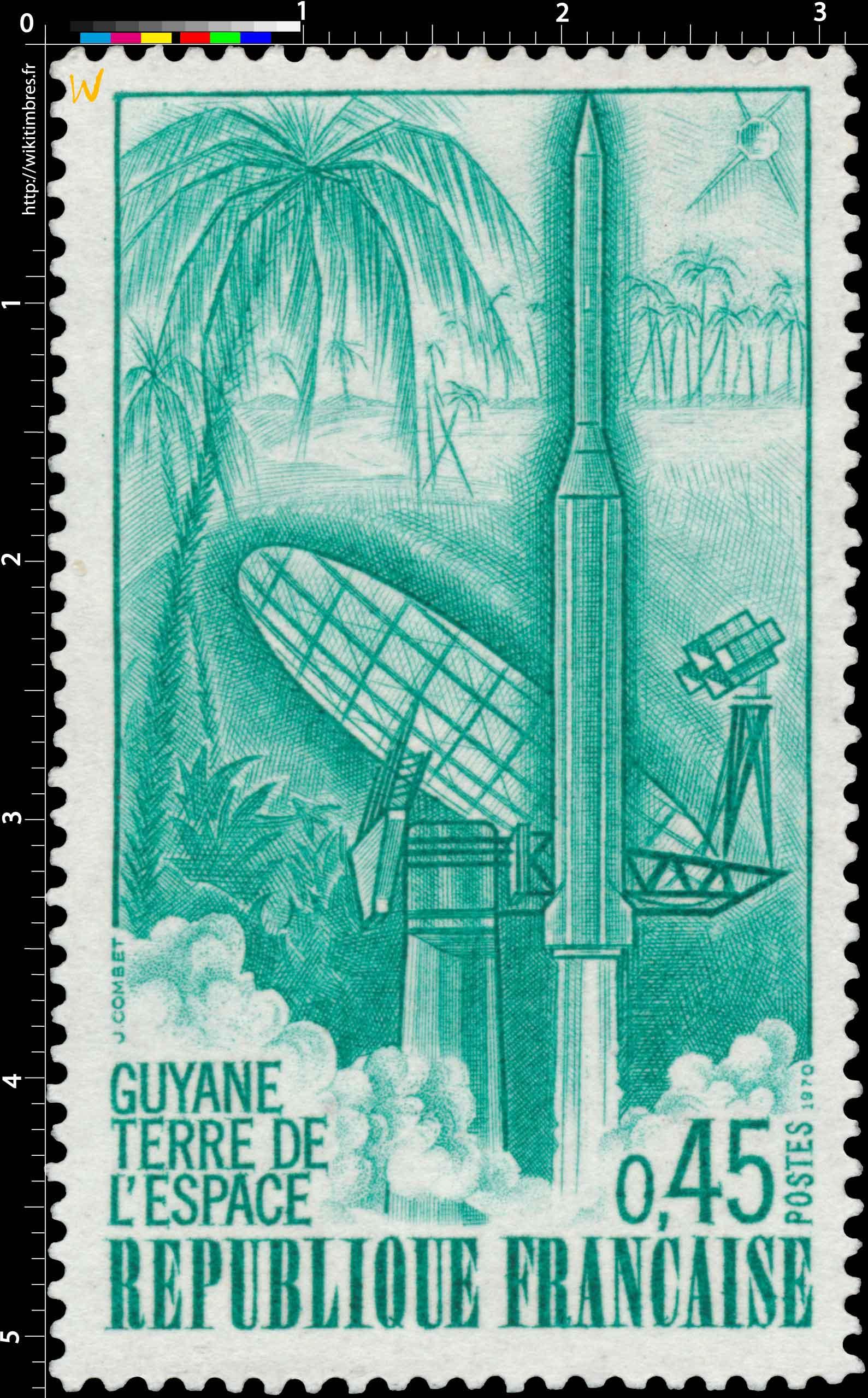 1970 GUYANE TERRE DE L'ESPACE