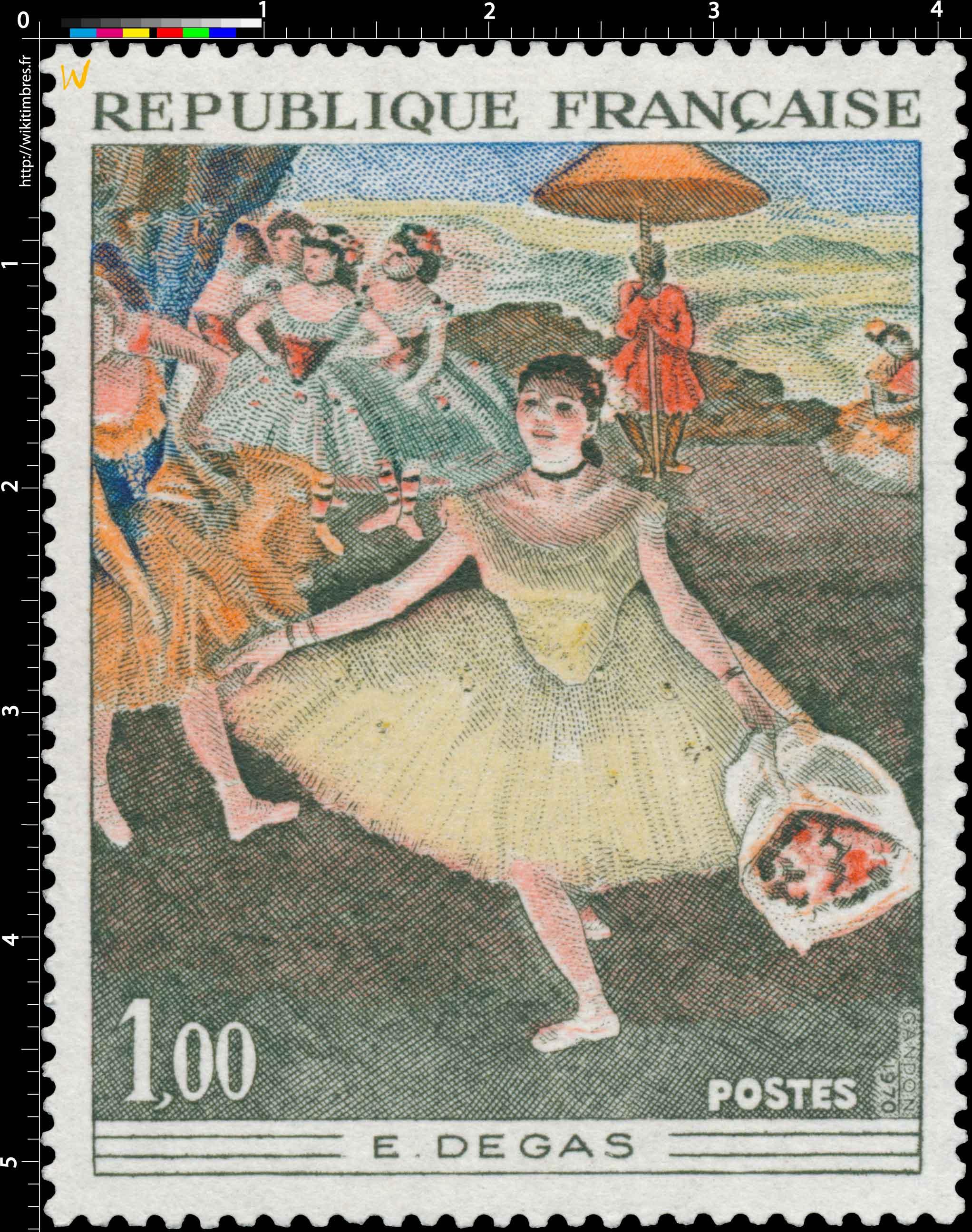 1970 E. DEGAS
