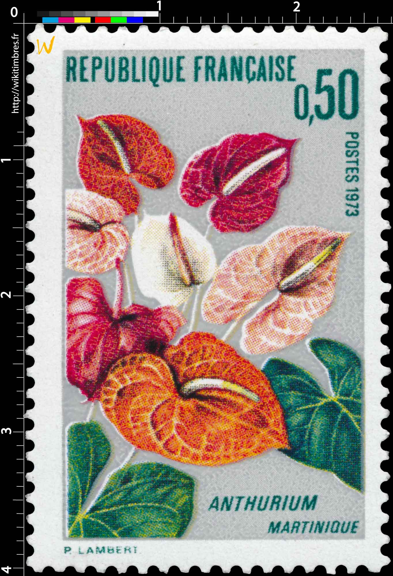 1973 ANTHURIUM MARTINIQUE