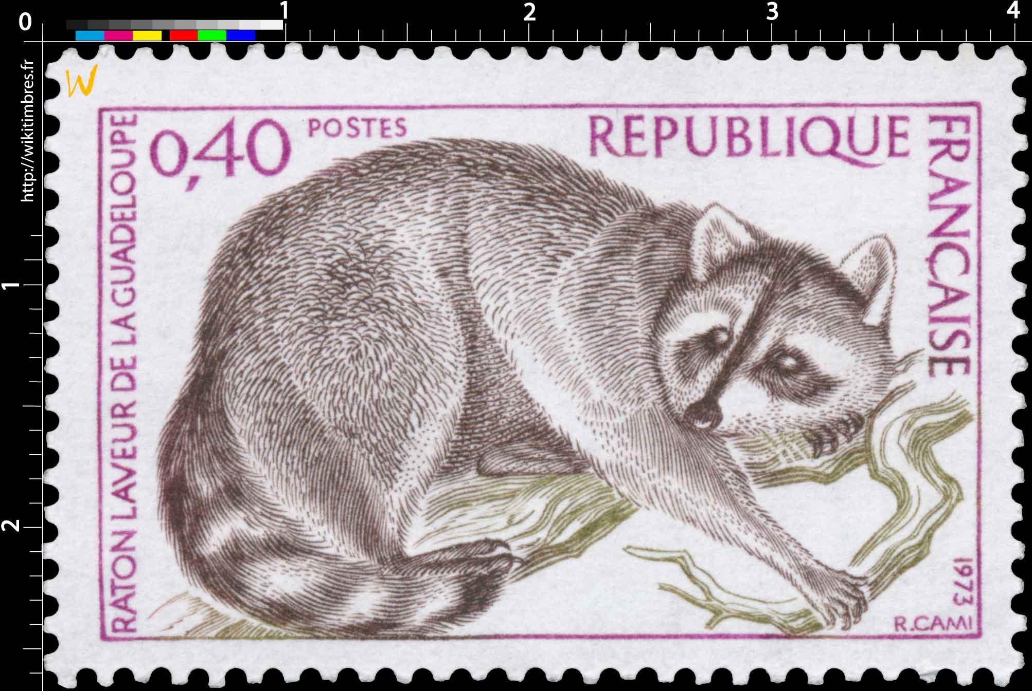 1973 RATON LAVEUR DE LA GUADELOUPE