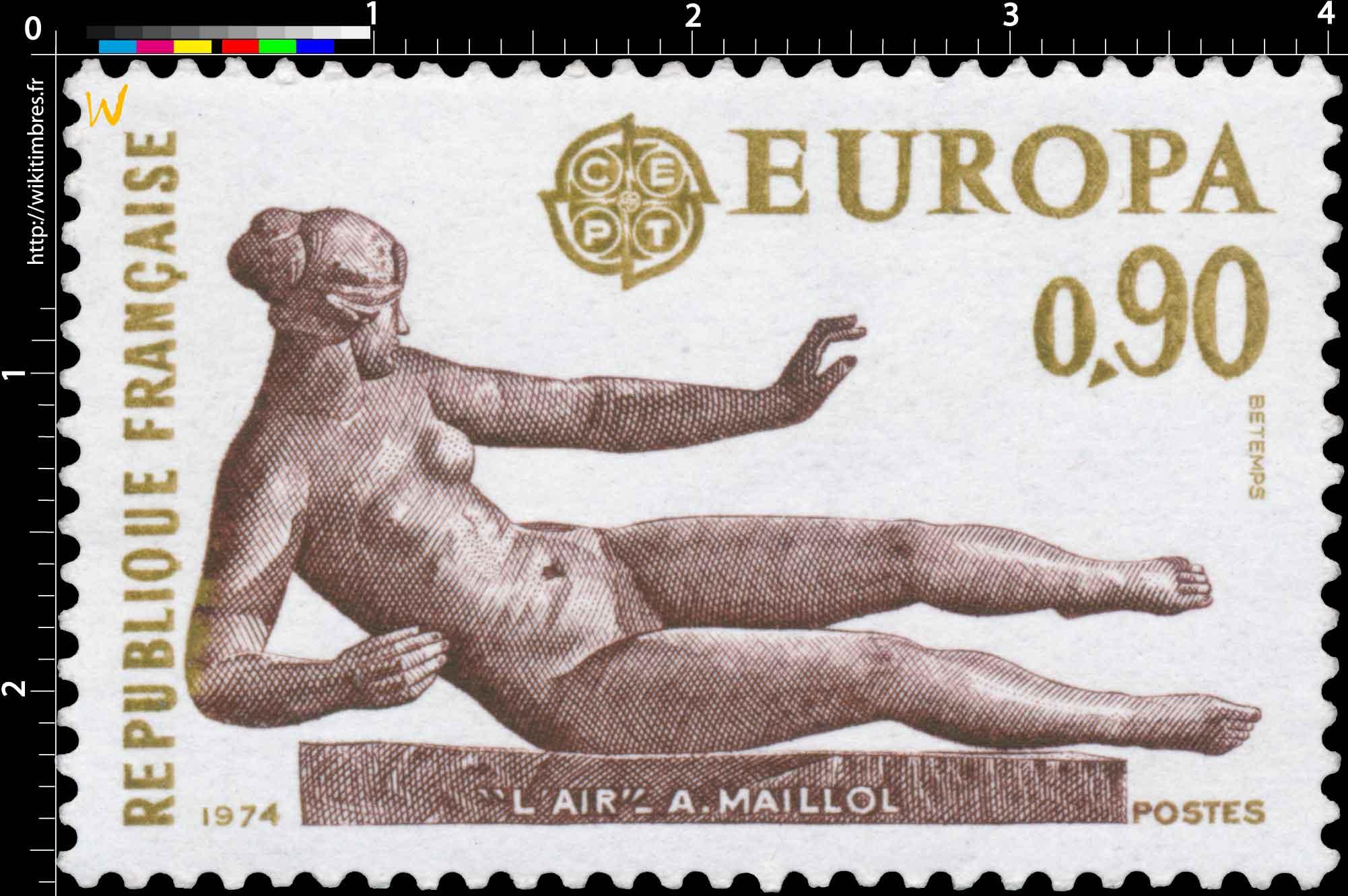 1974 EUROPA L'AIR- A. MAILLOL