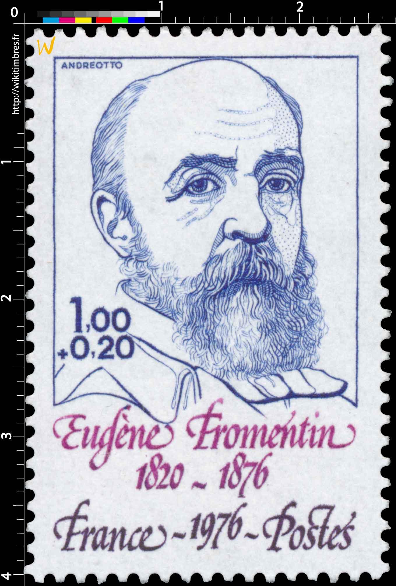 1976 Eugène Fromentin 1820-1876