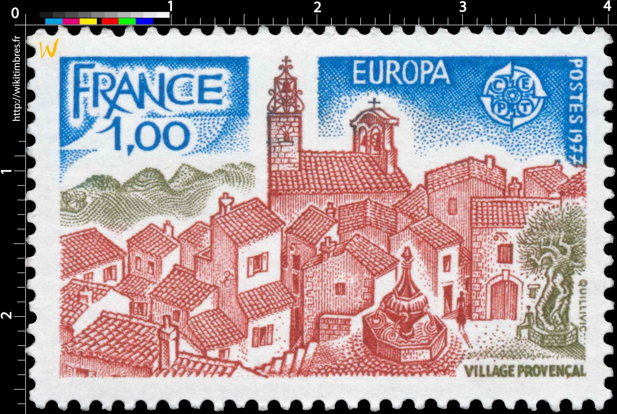 1977 EUROPA CEPT VILLAGE PROVENÇAL