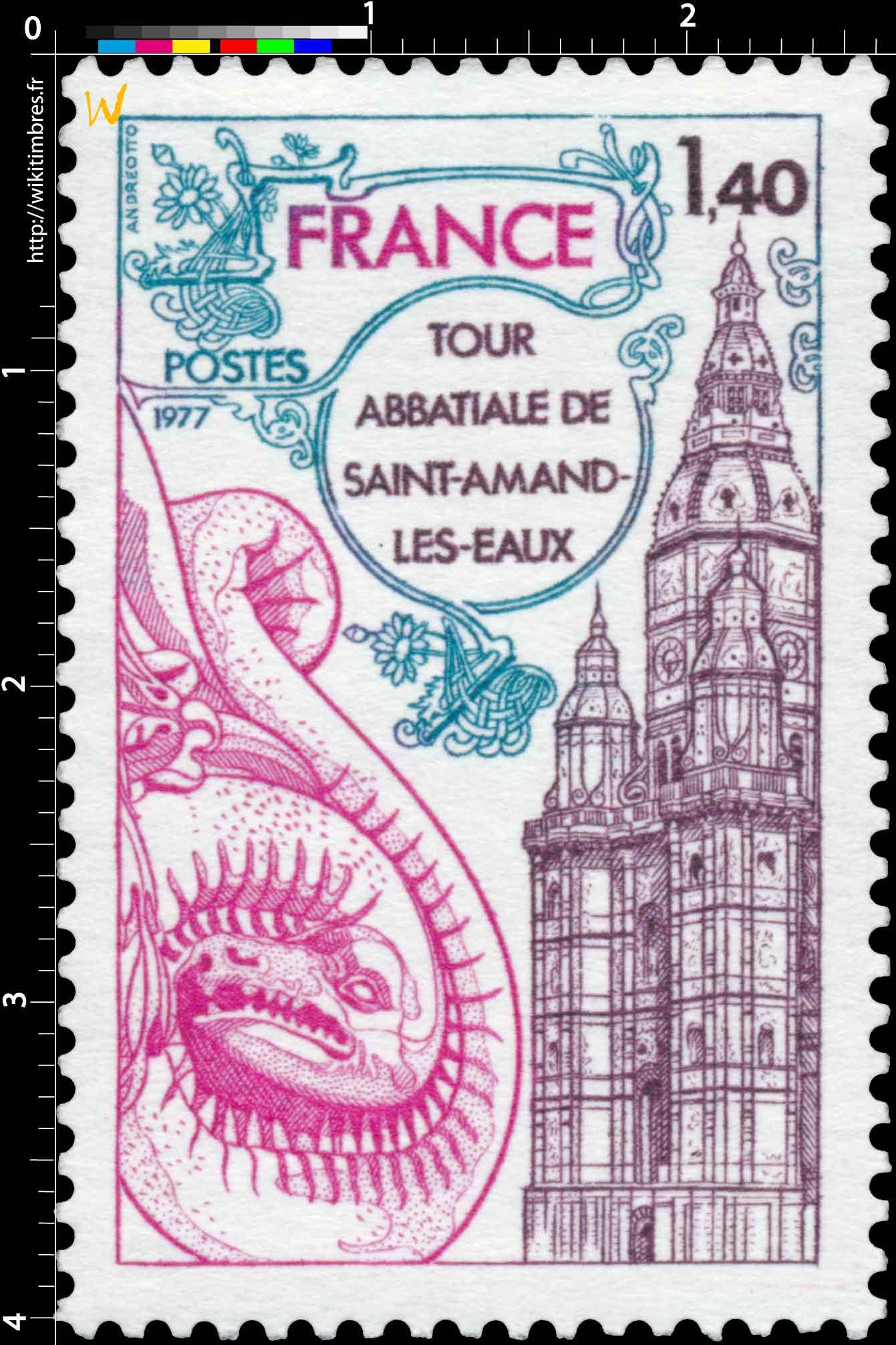 1977 TOUR ABBATIALE DE SAINT-AMAND-LES-EAUX