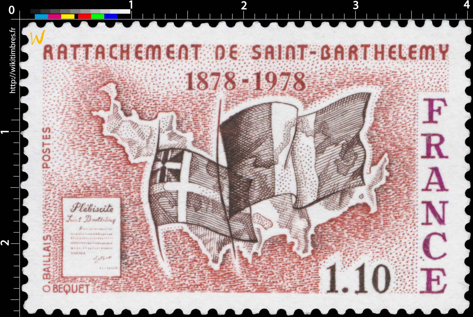 RATTACHEMENT DE SAINT-BARTHÉLEMY 1878-1978
