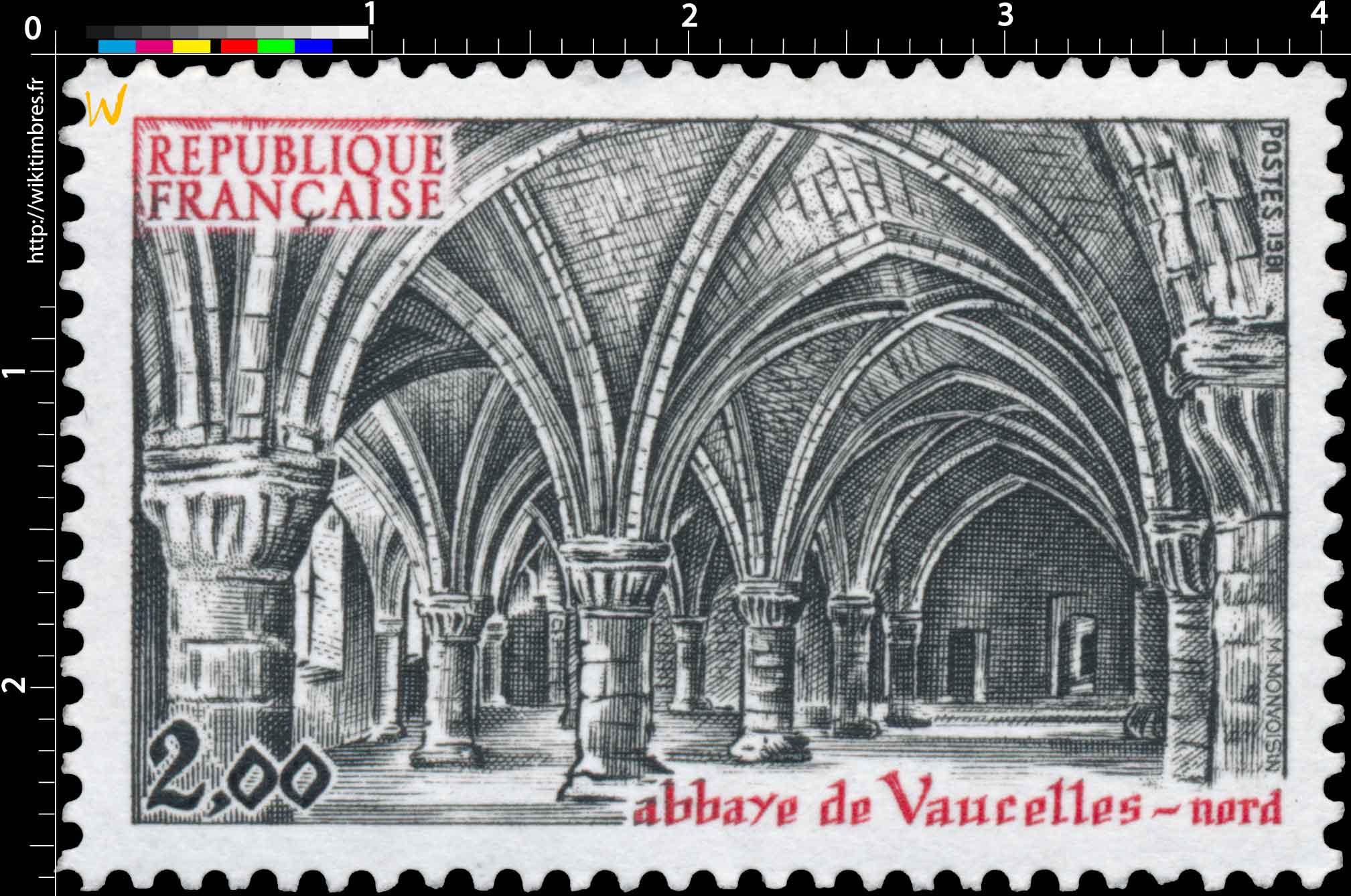 1981 abbaye de Vaucelles - nord