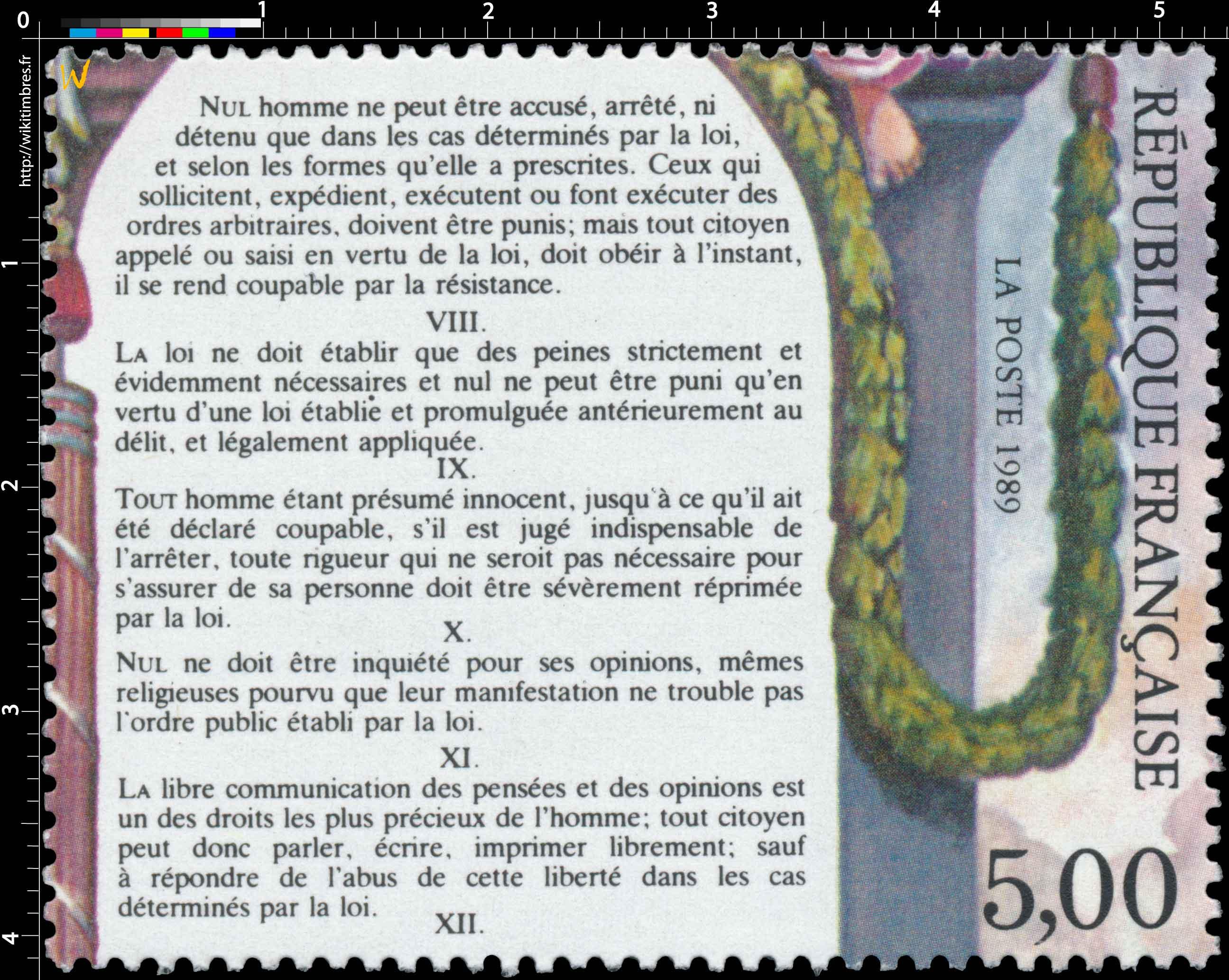 1989 VIII… XI