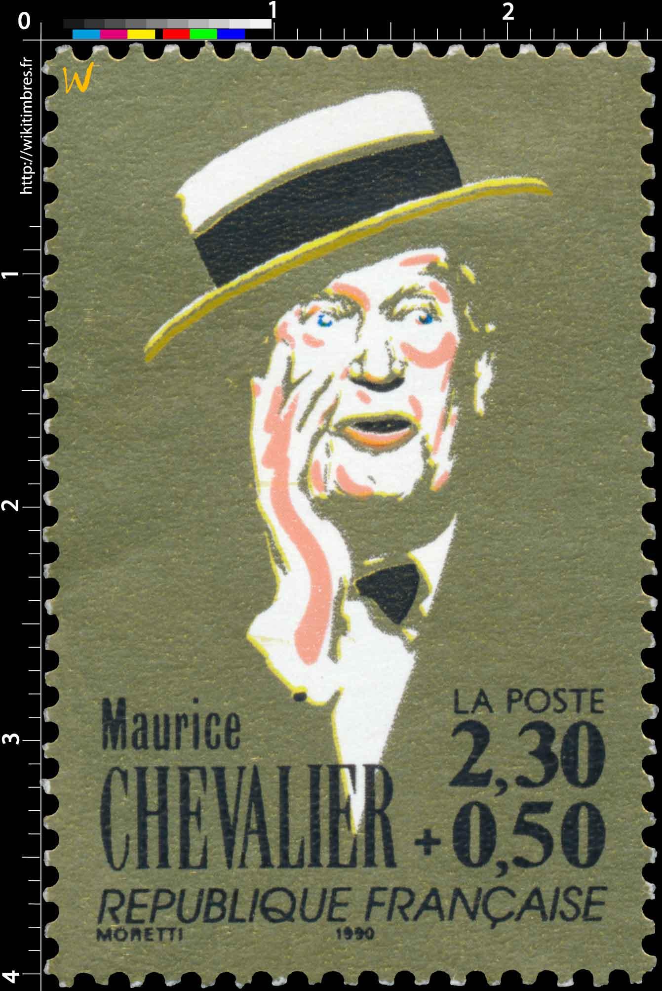 1990 Maurice CHEVALIER