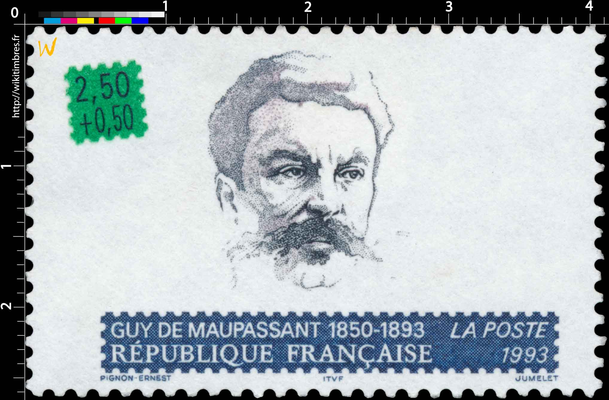 1993 GUY DE MAUPASSANT 1850-1893