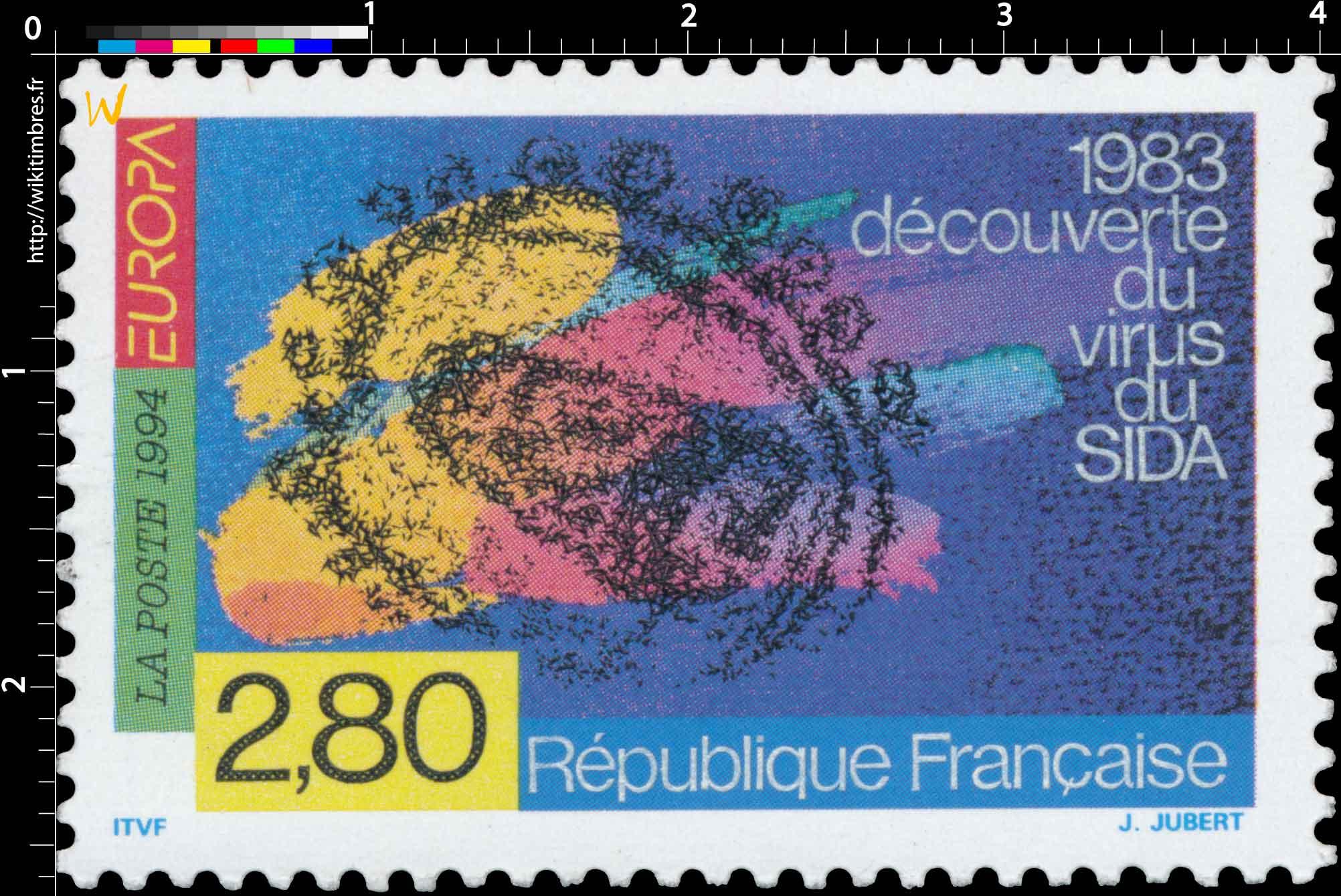 1994 EUROPA 1983 Découverte du virus du SIDA