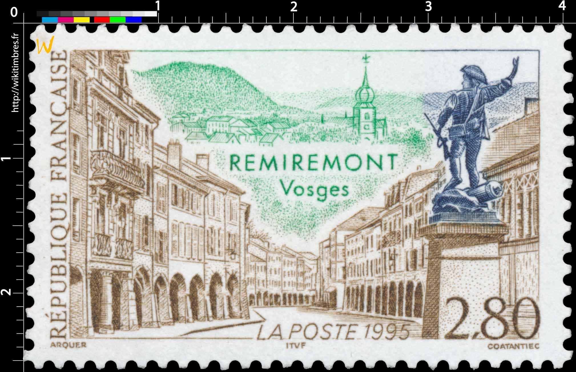 1995 REMIREMONT Vosges
