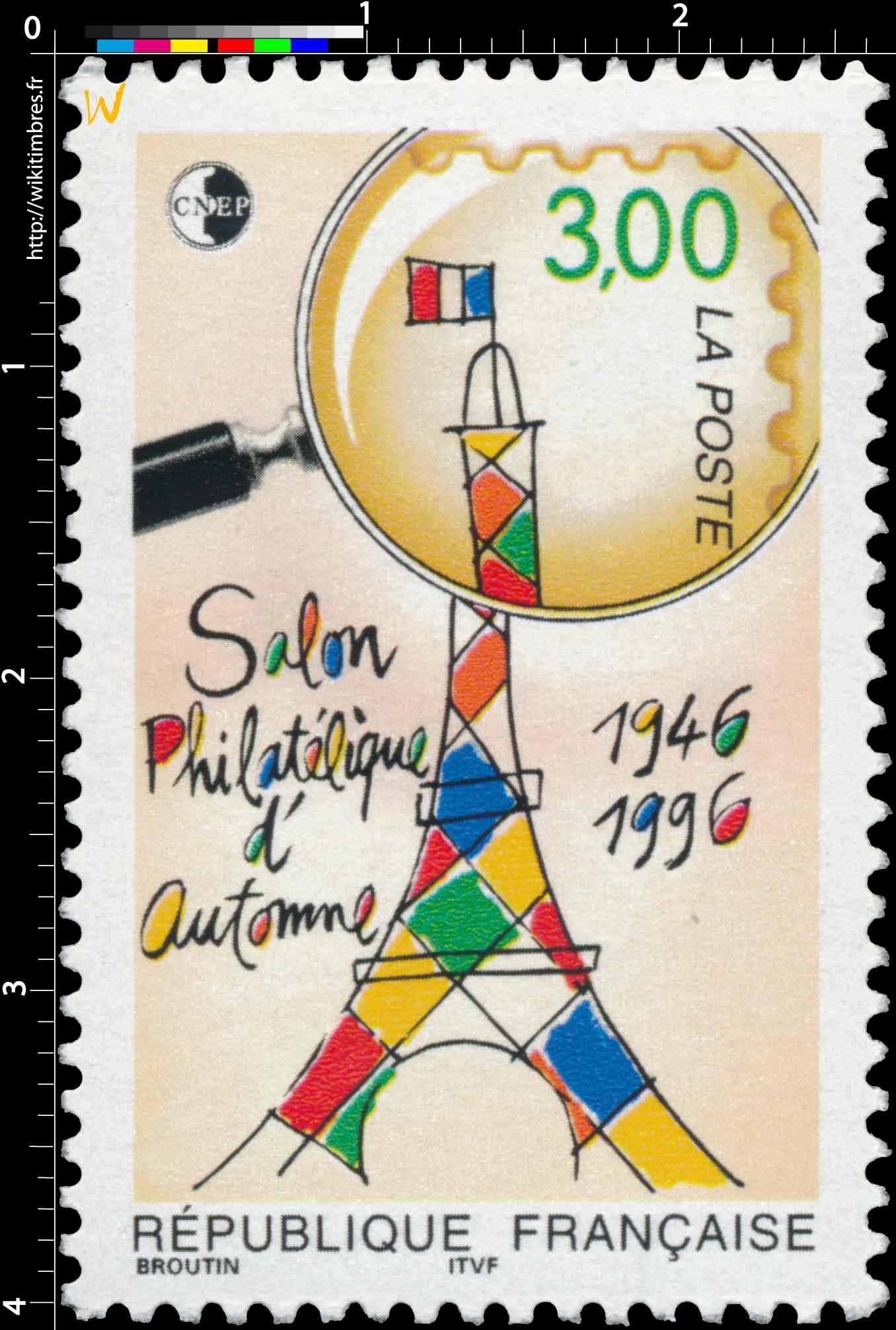 Salon Philatélique d'Automne 1946-1996 CNEP