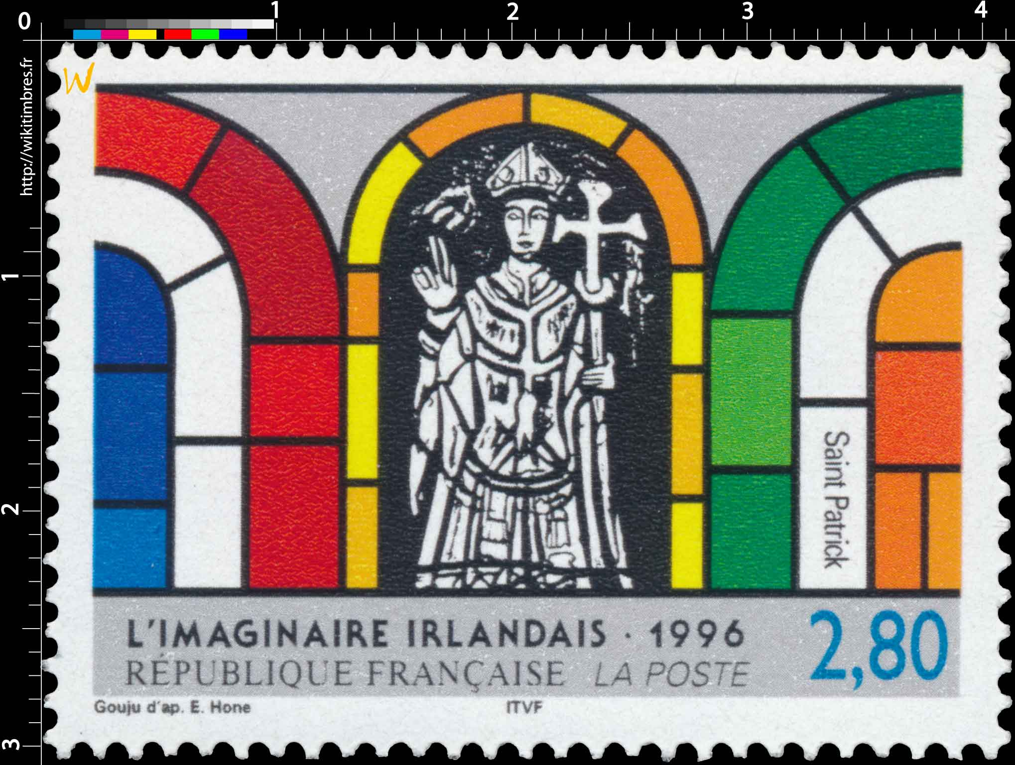 1996 L'IMAGINAIRE IRLANDAIS Saint Patrick