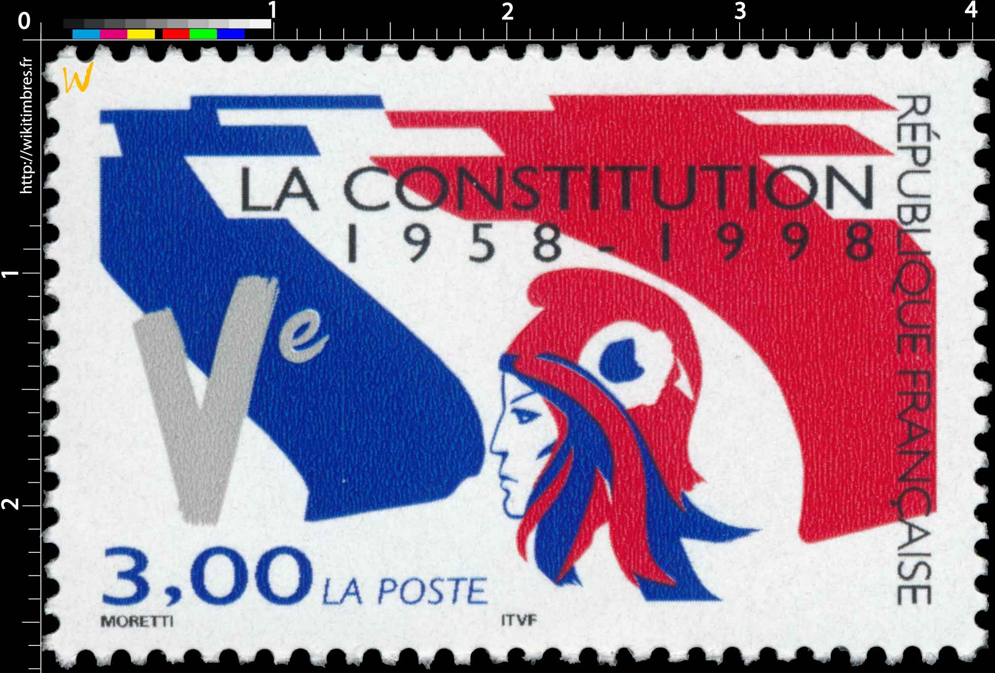 LA CONSTITUTION 1958-1998