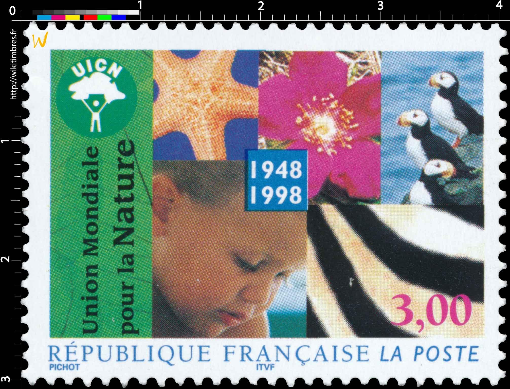 UNION MONDIALE POUR LA NATURE 1948-1998 UICN