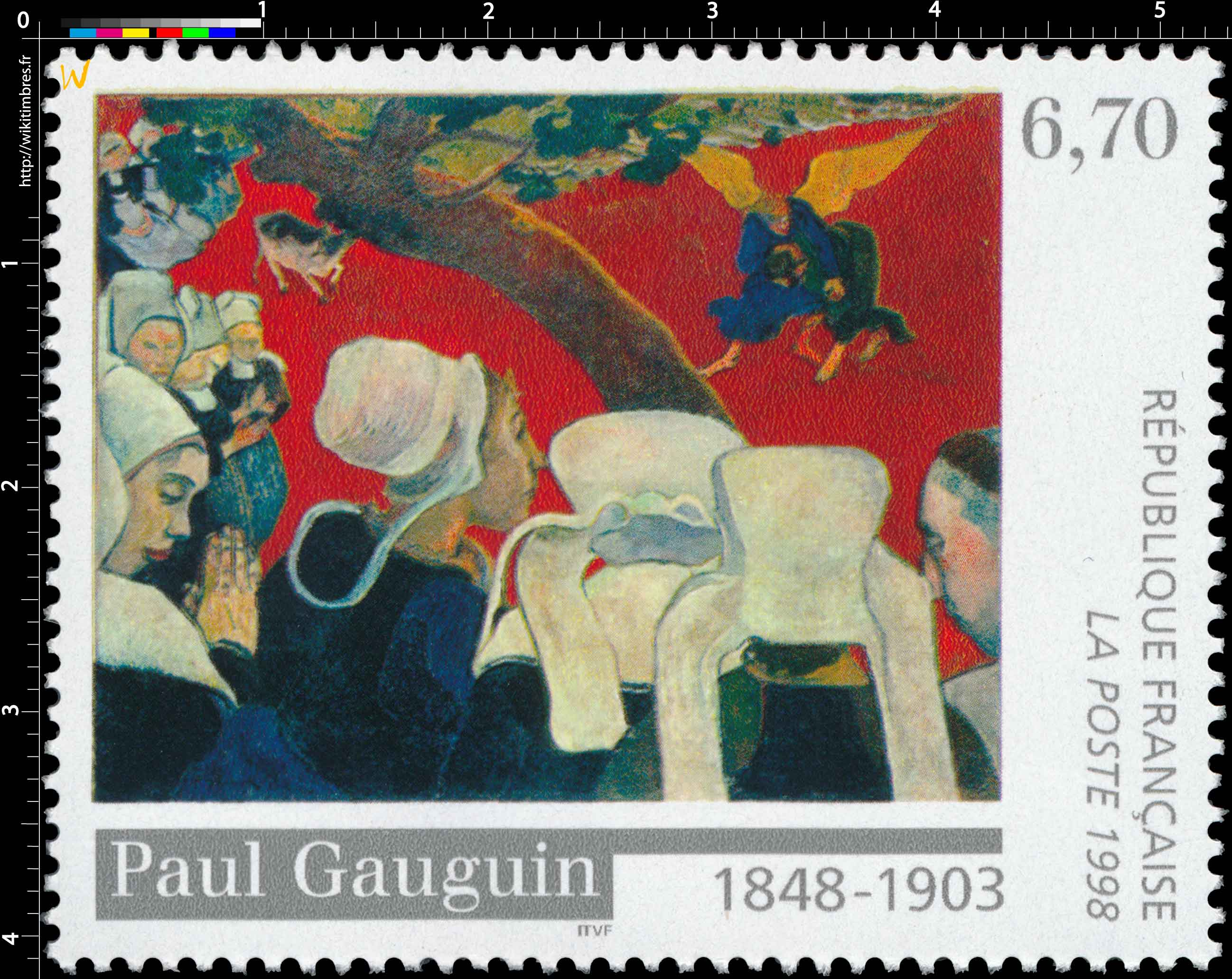 1998 Paul Gauguin 1848-1903