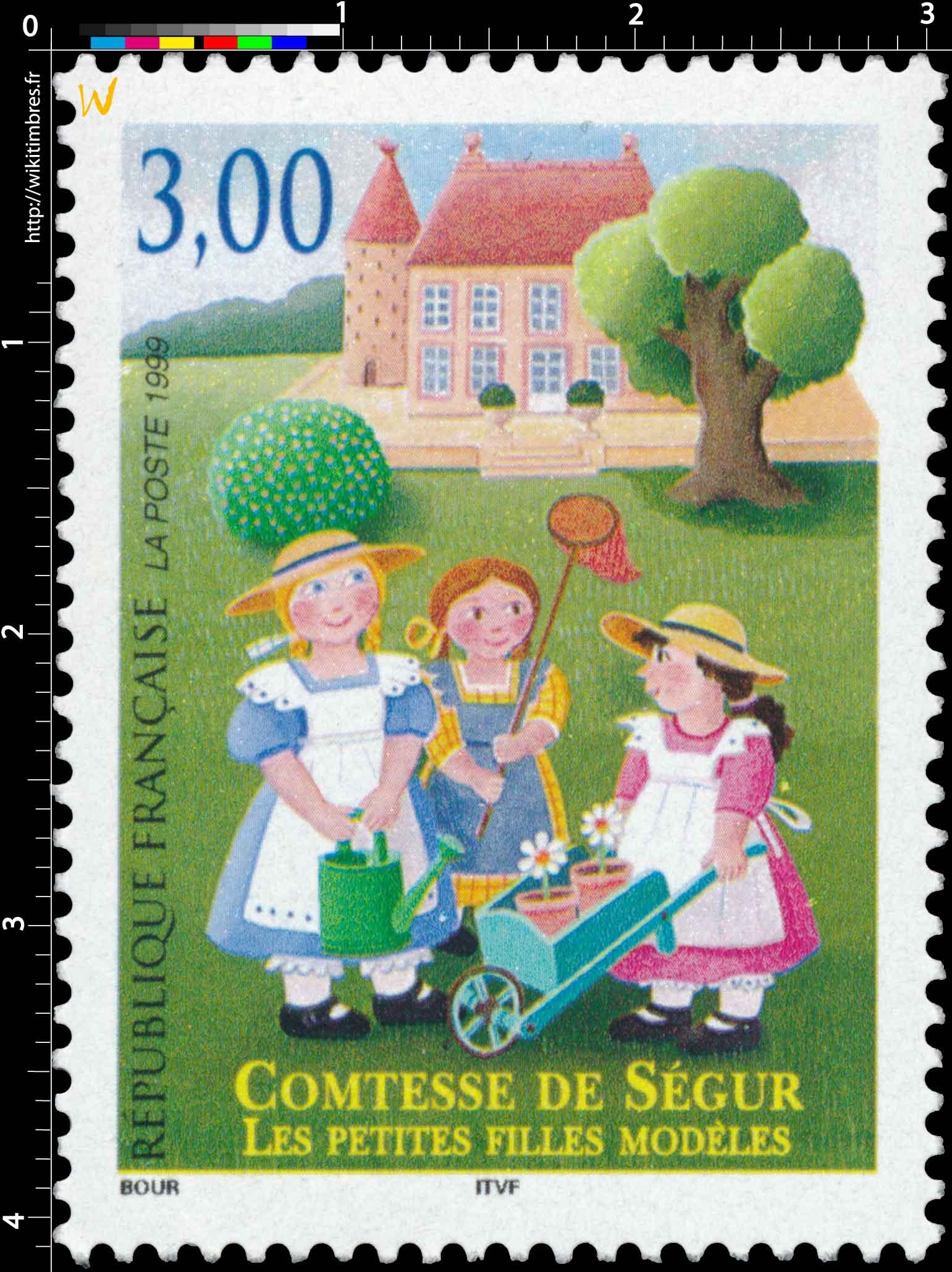1999 COMTESSE DE SÉGUR LES PETITES FILLES MODÈLES