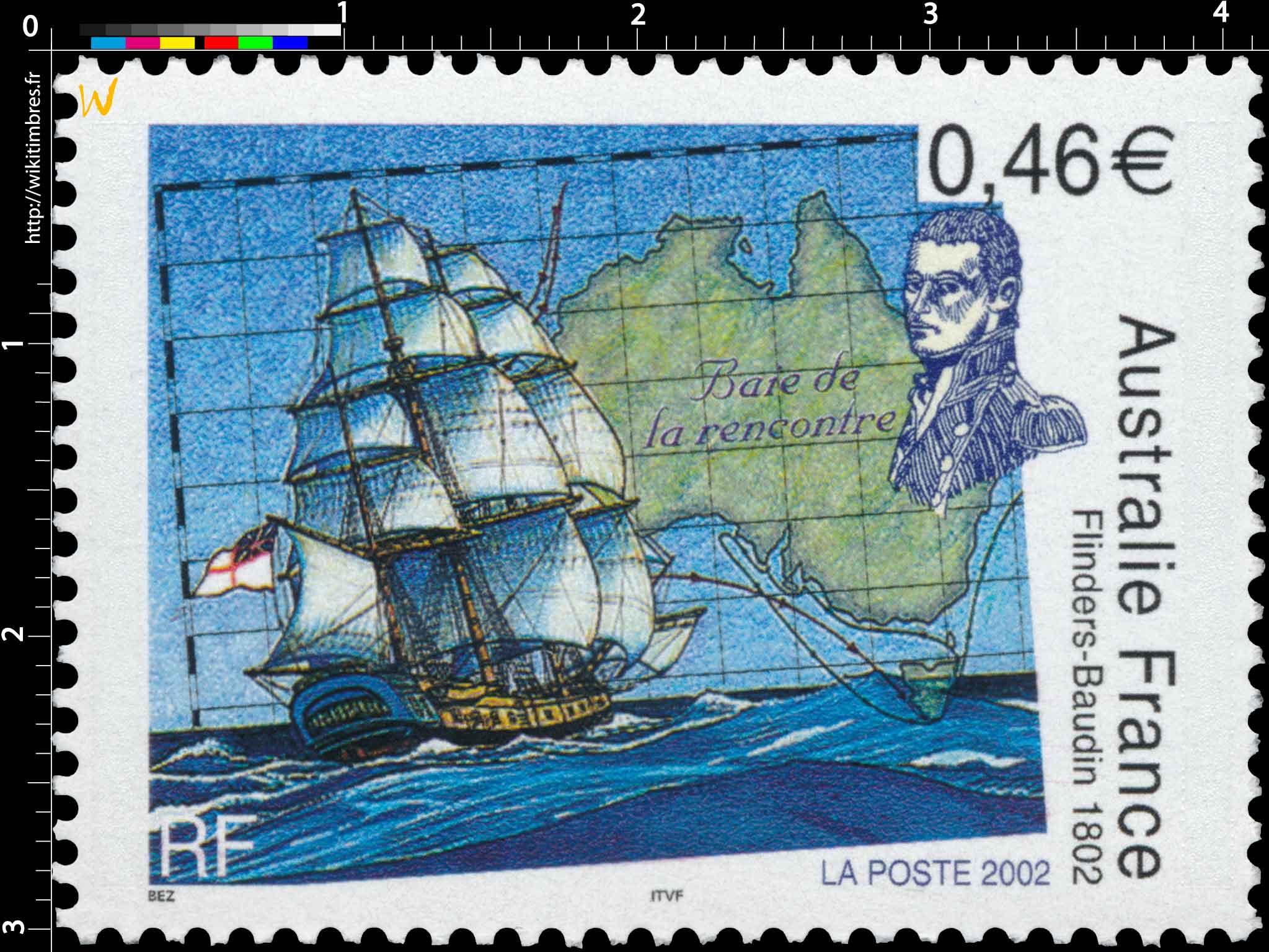 2002 Australie France Flinders-Baudin 1802 Baie de la rencontre