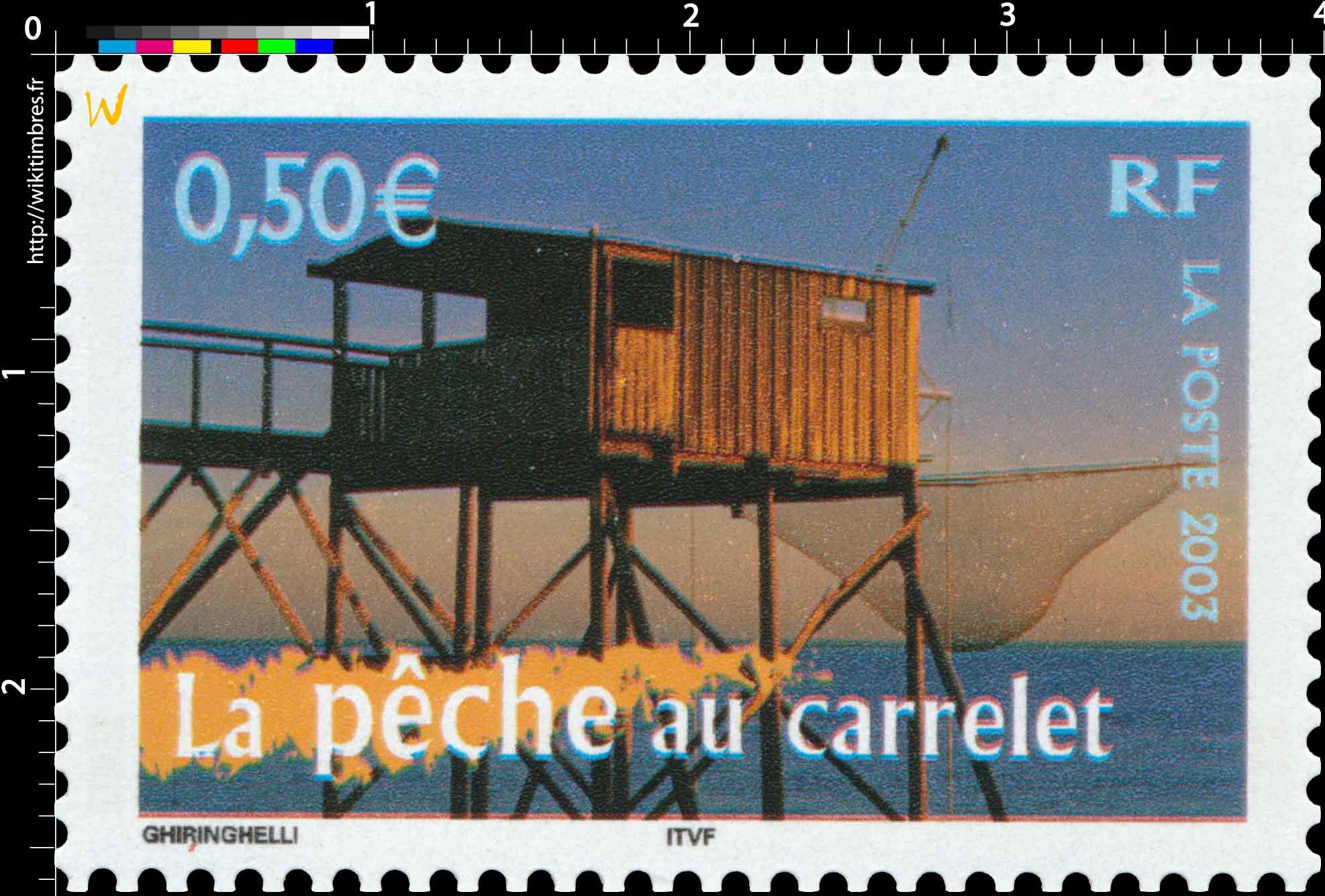 2003 La pêche au carrelet