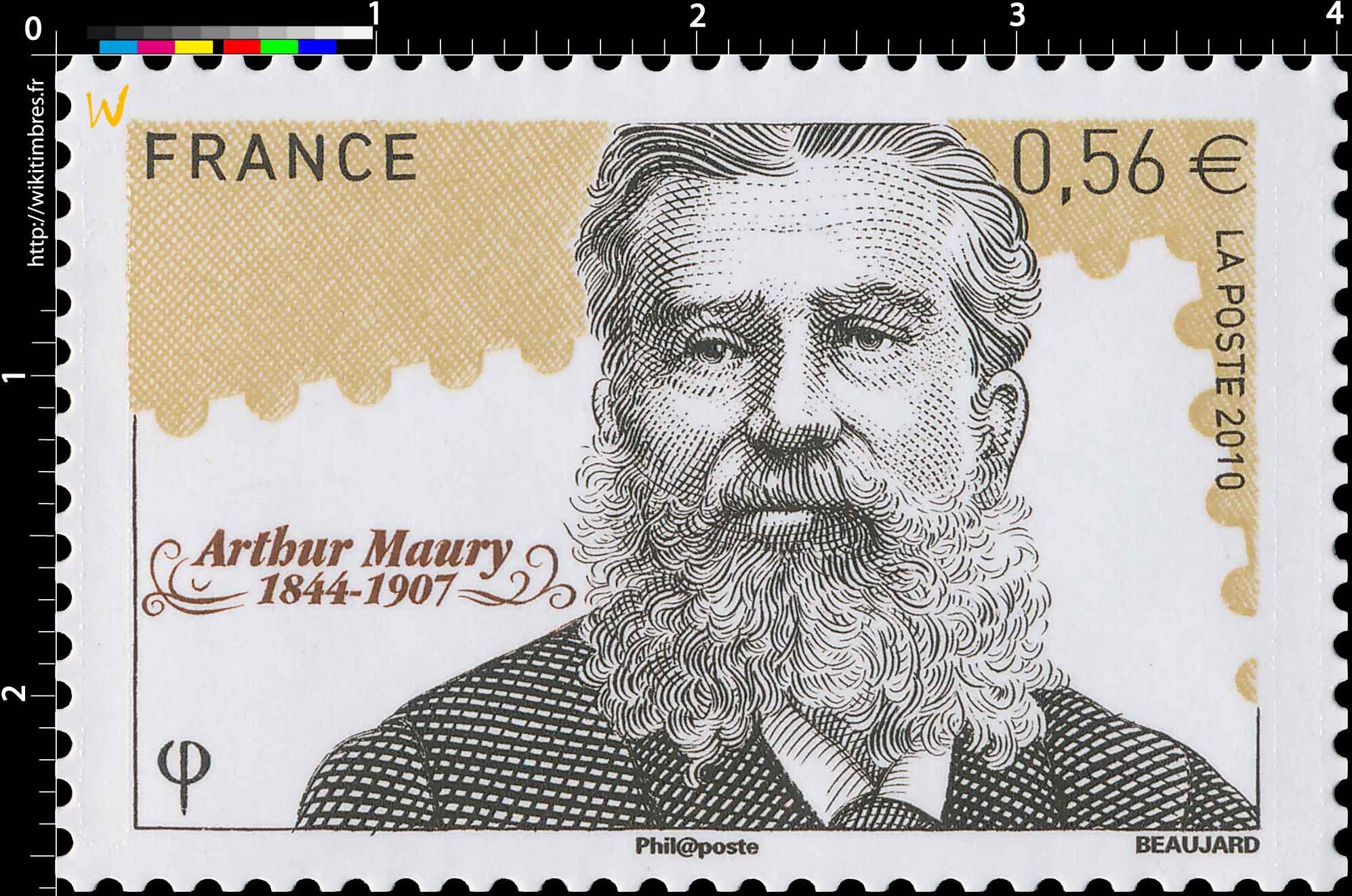 2010 Arthur Maury (1844-1907)