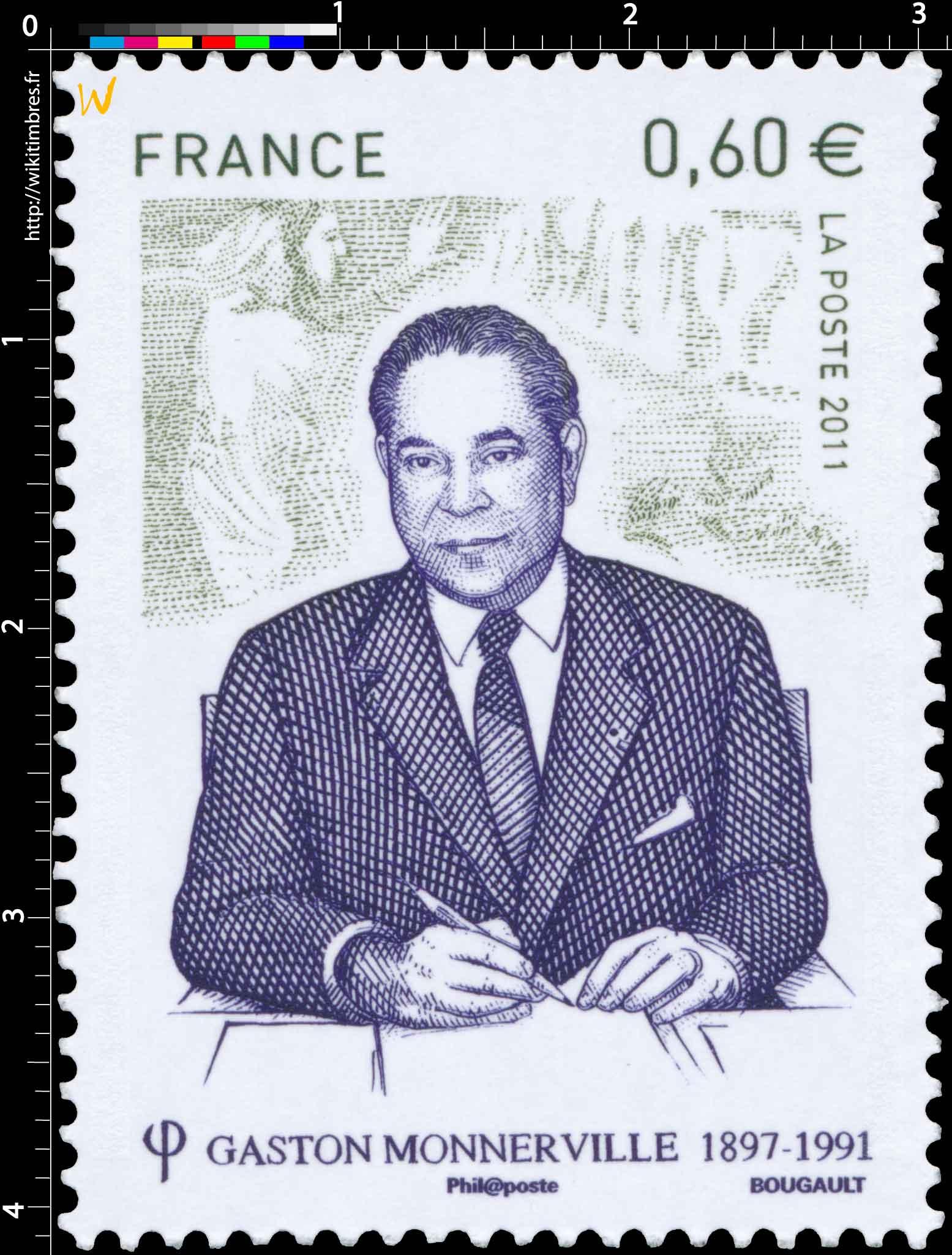 2011 GASTON MONNERVILLE 1897 - 1991