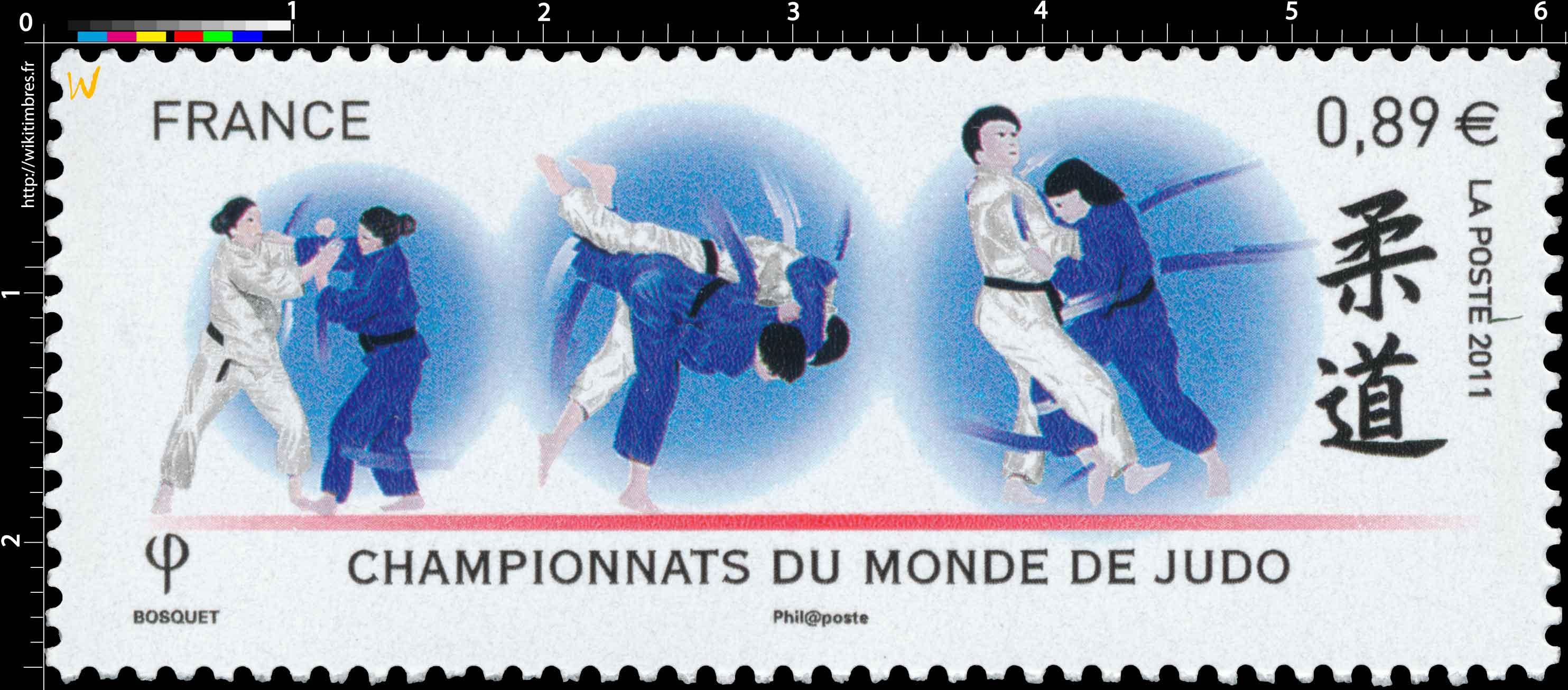 2011 Championnats du monde de judo