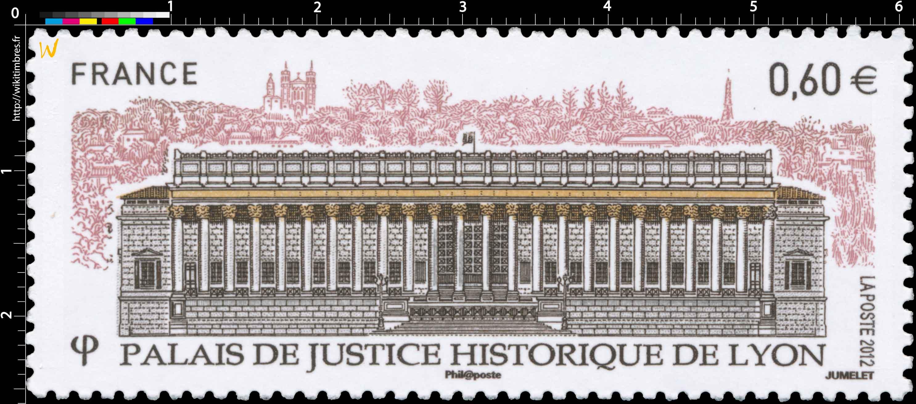 2012 Palais de justice historique de Lyon