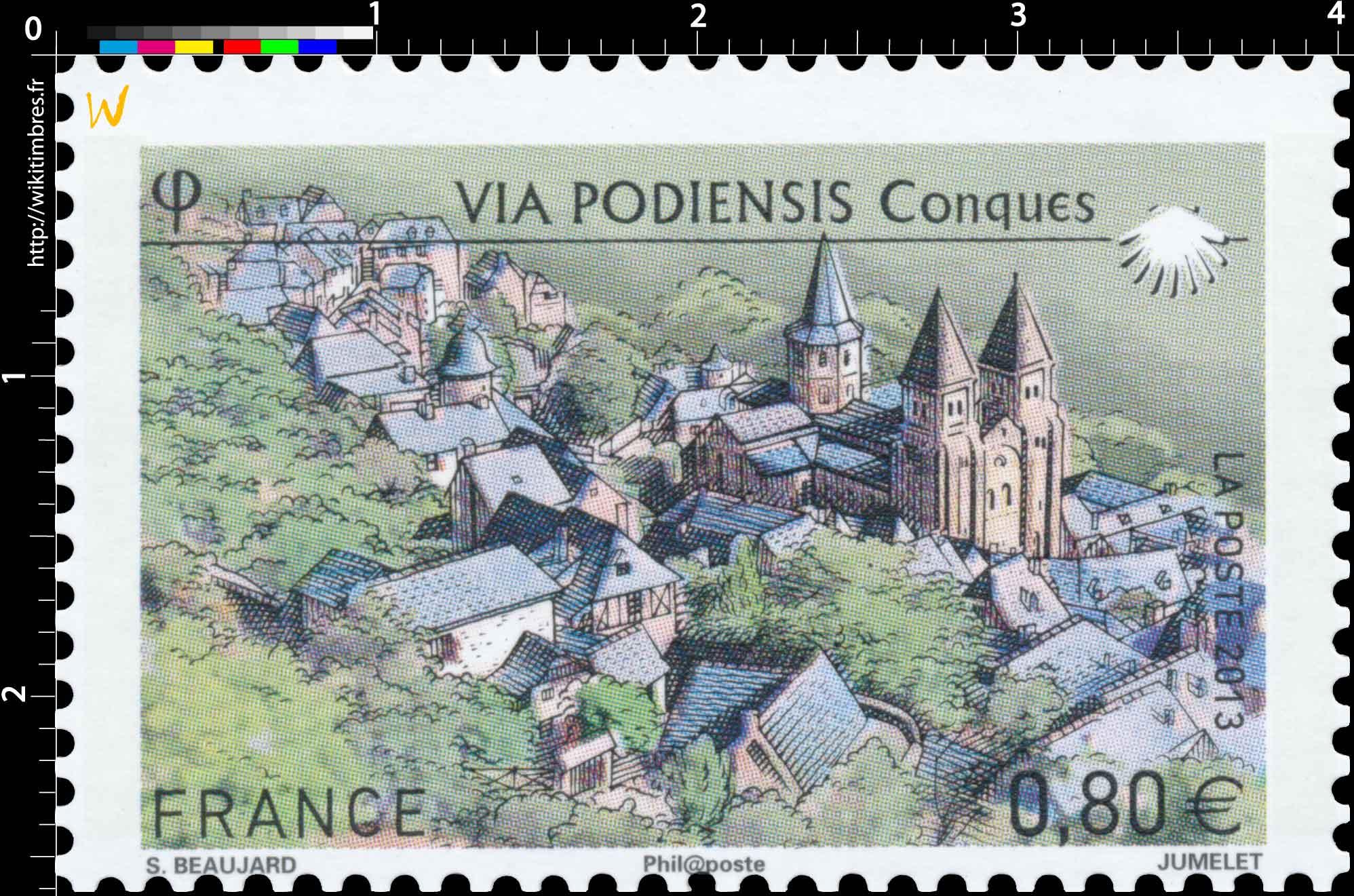 2013 Via Podiensis Conques