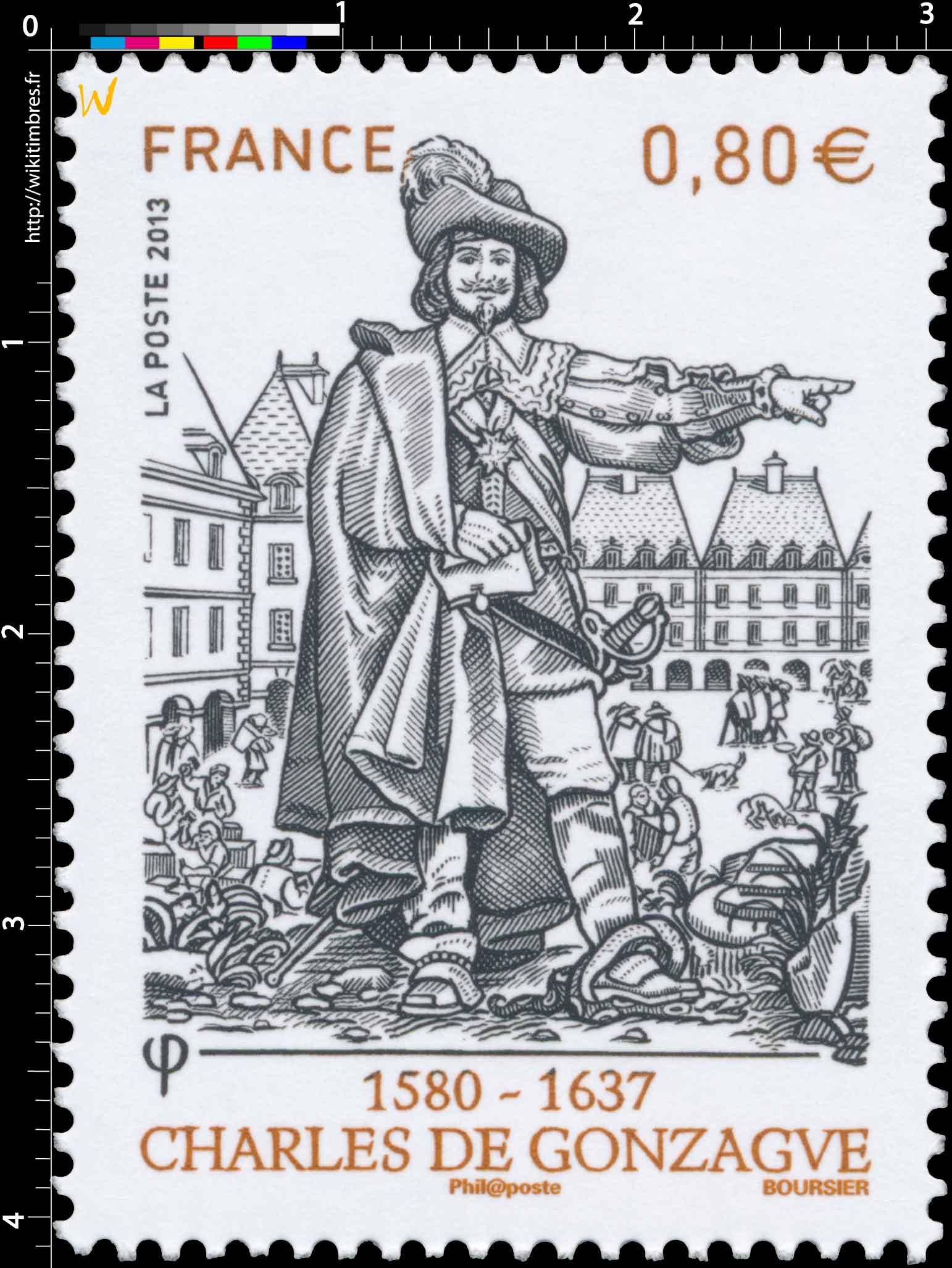 2013 Charles de Gonzague 1580 - 1637