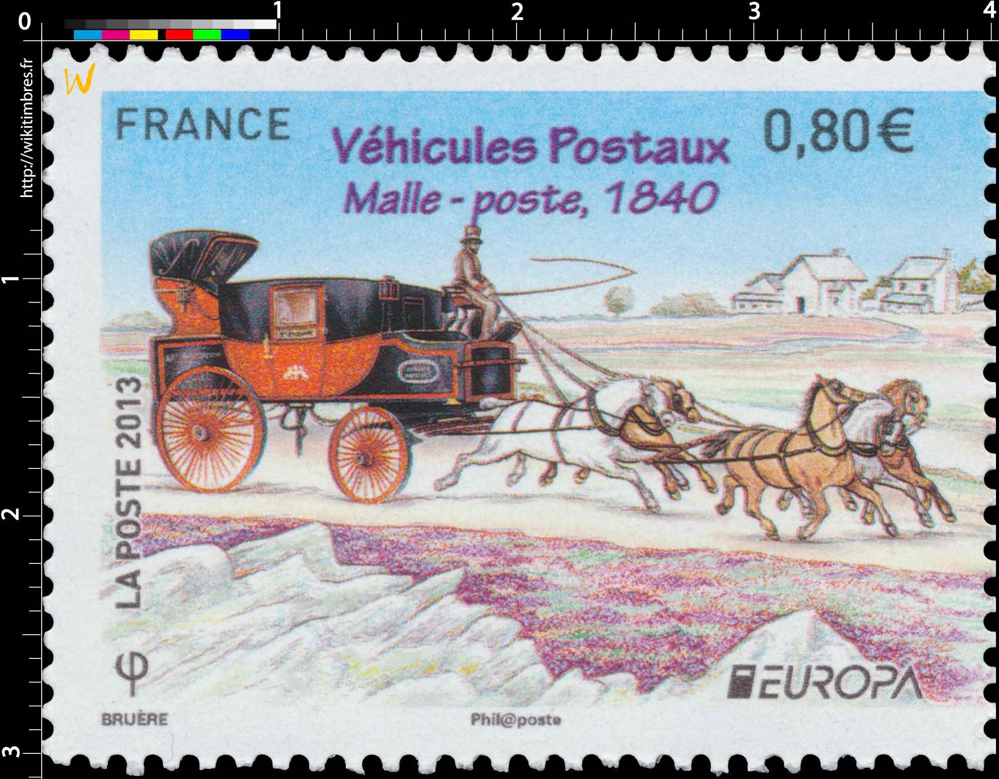 2013 Europa Véhicules Postaux Malle-poste 1840