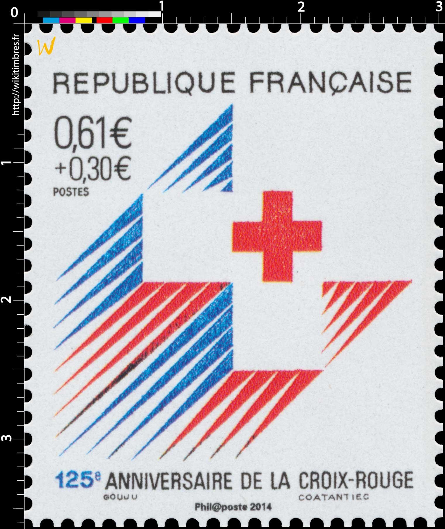 2014 125e anniversaire de la Croix-Rouge française