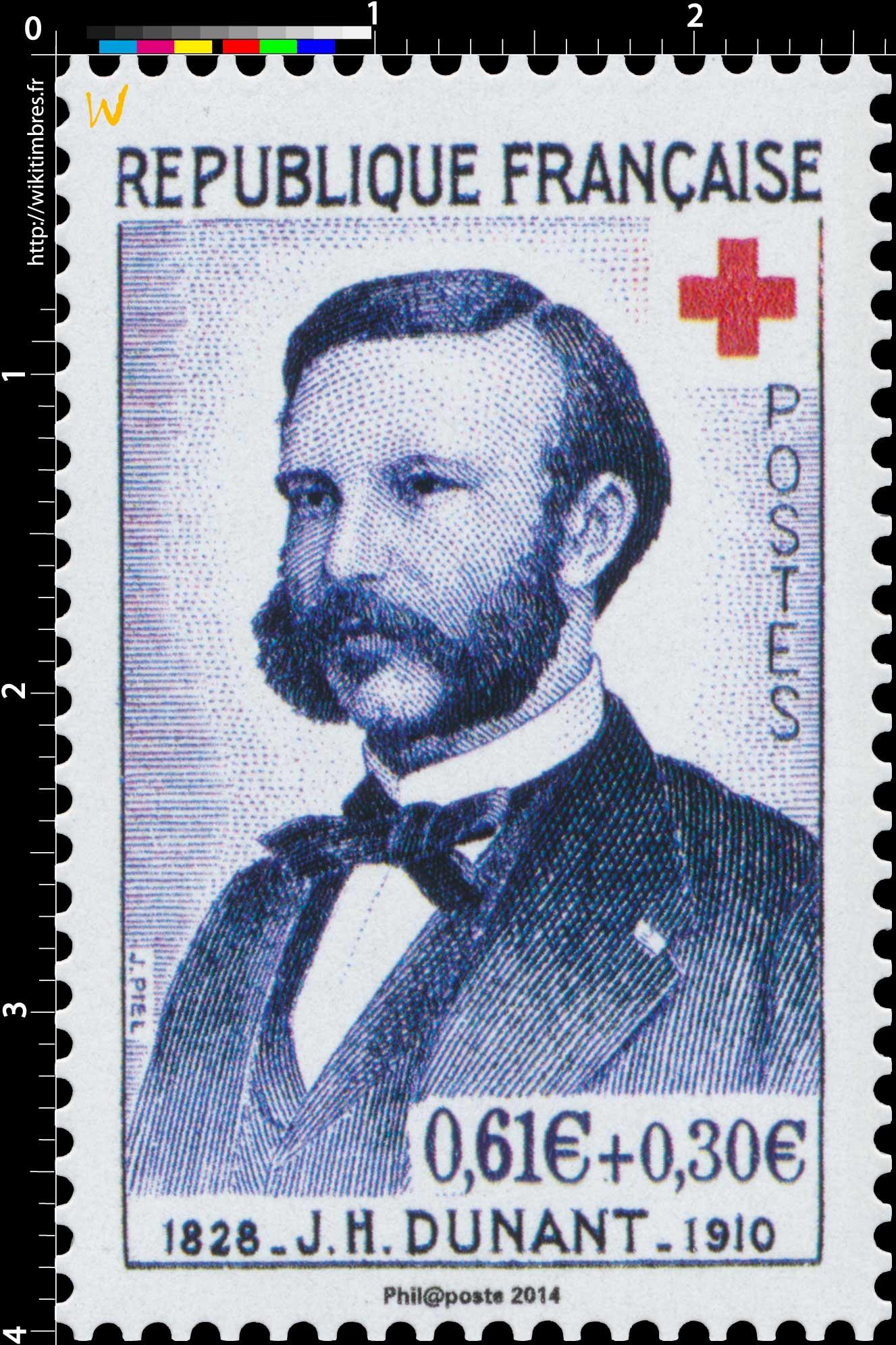 2014 J. H. DUNANT 1828-1910