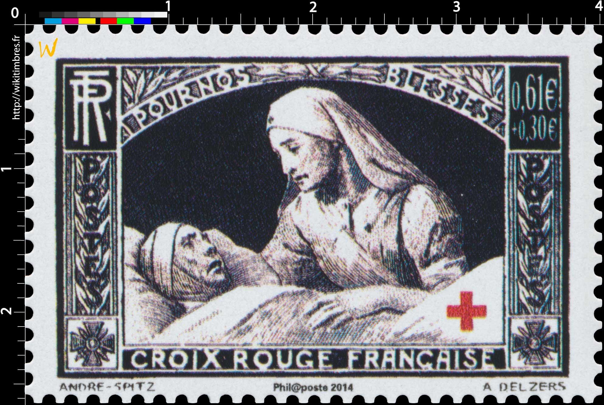 2014 Pour nos blessés Croix-Rouge française