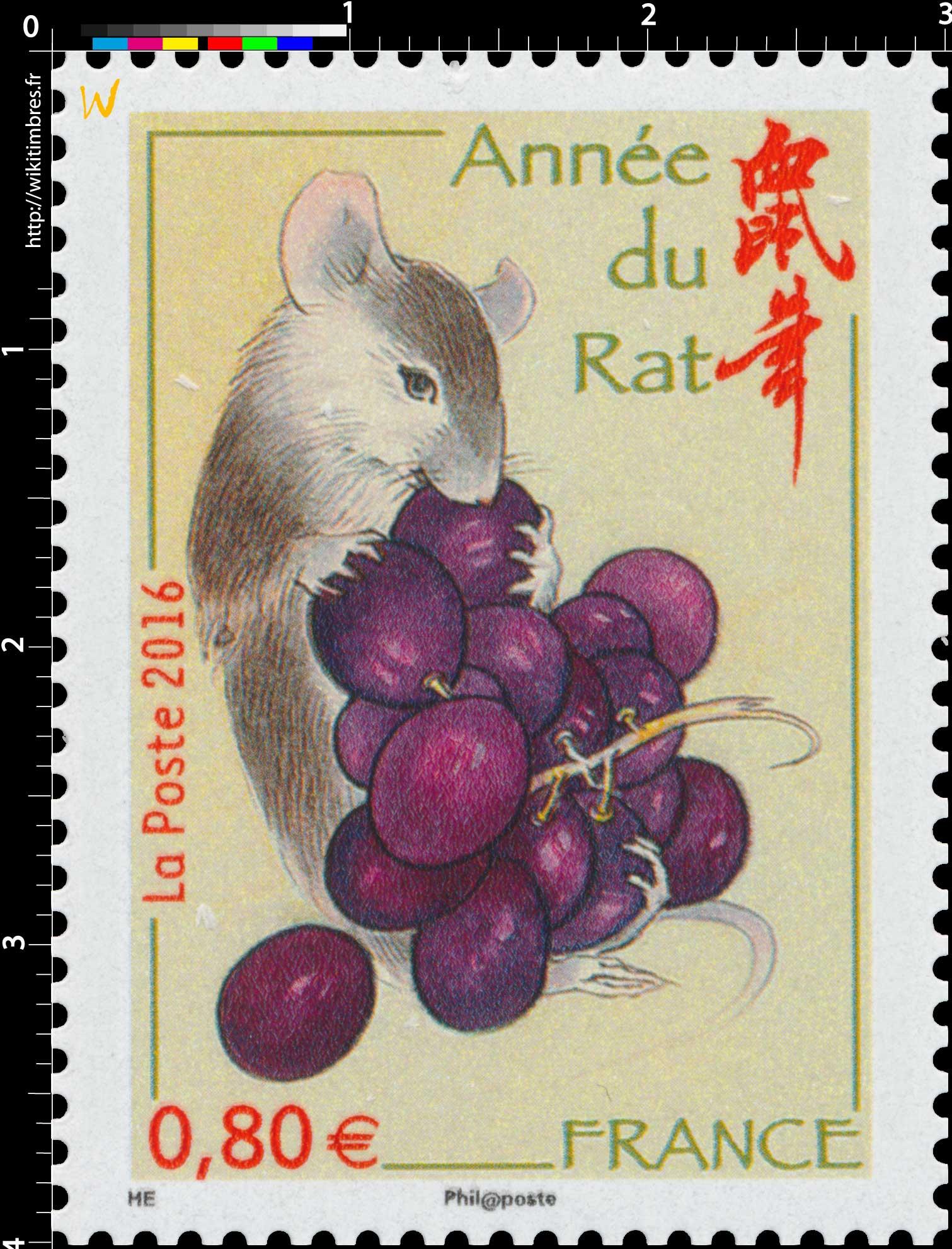 2016 Année du Rat