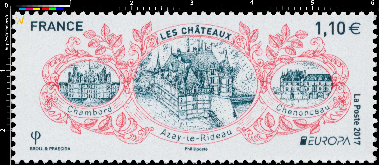 2017 EUROPA – LES CHÂTEAUX  - Chambord - Azay-le-Rideau - Chenonceau