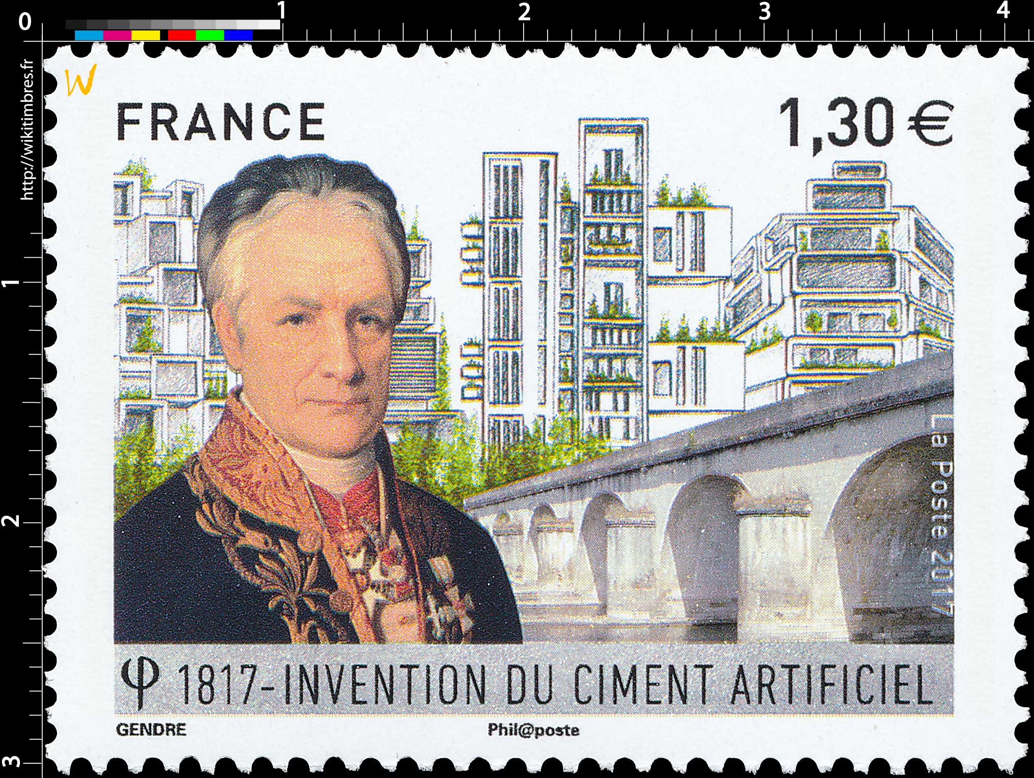 2017 Invention du ciment artificiel 1817