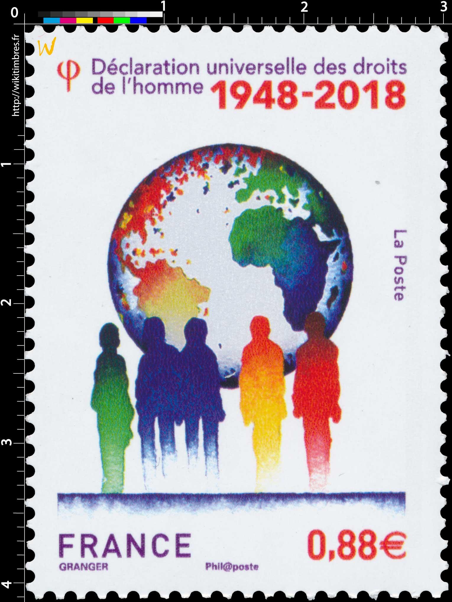 2018 Déclaration universelle des droits de l'homme 1948-2018
