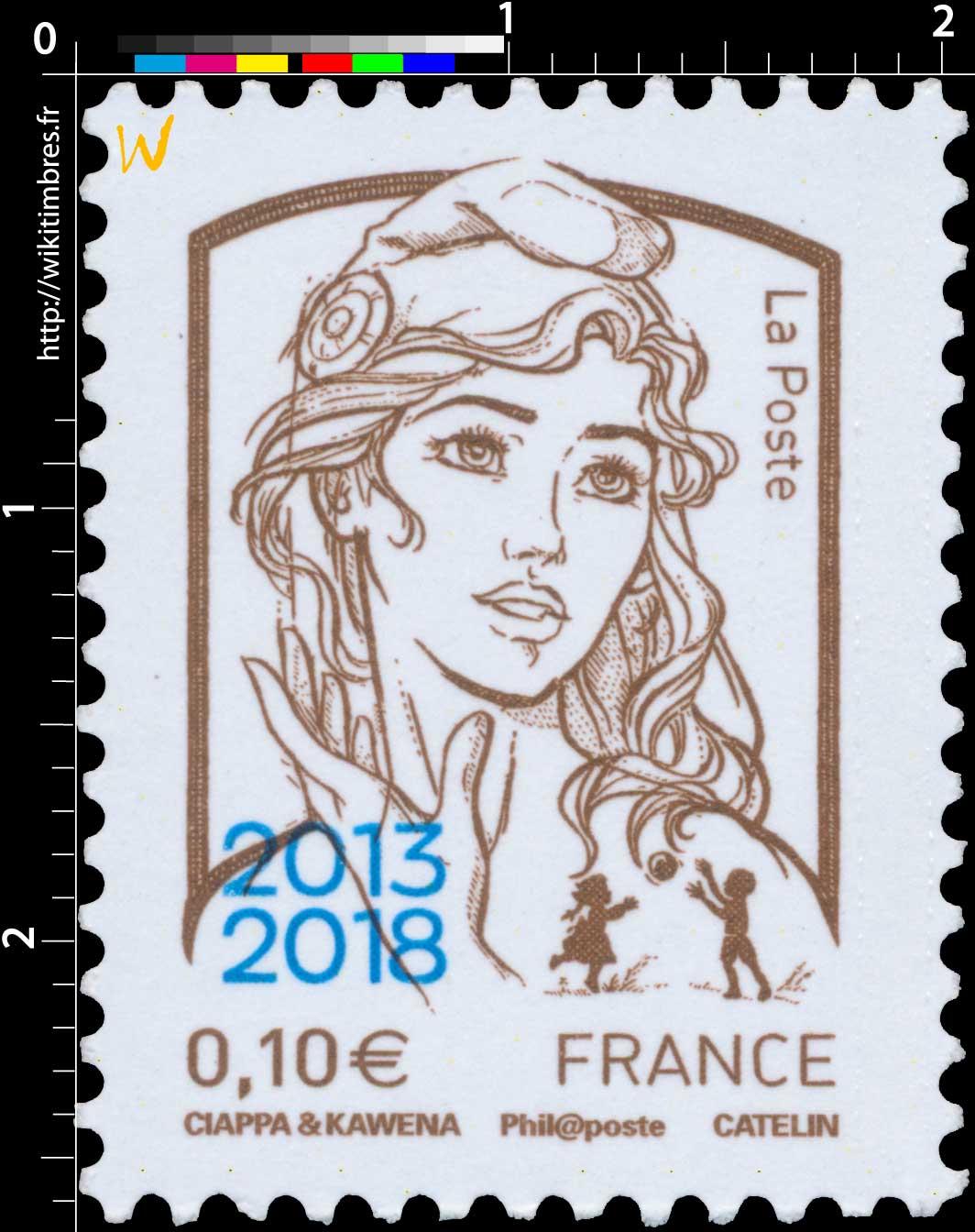 2018 Marianne et la Jeunesse 2013 - 2018